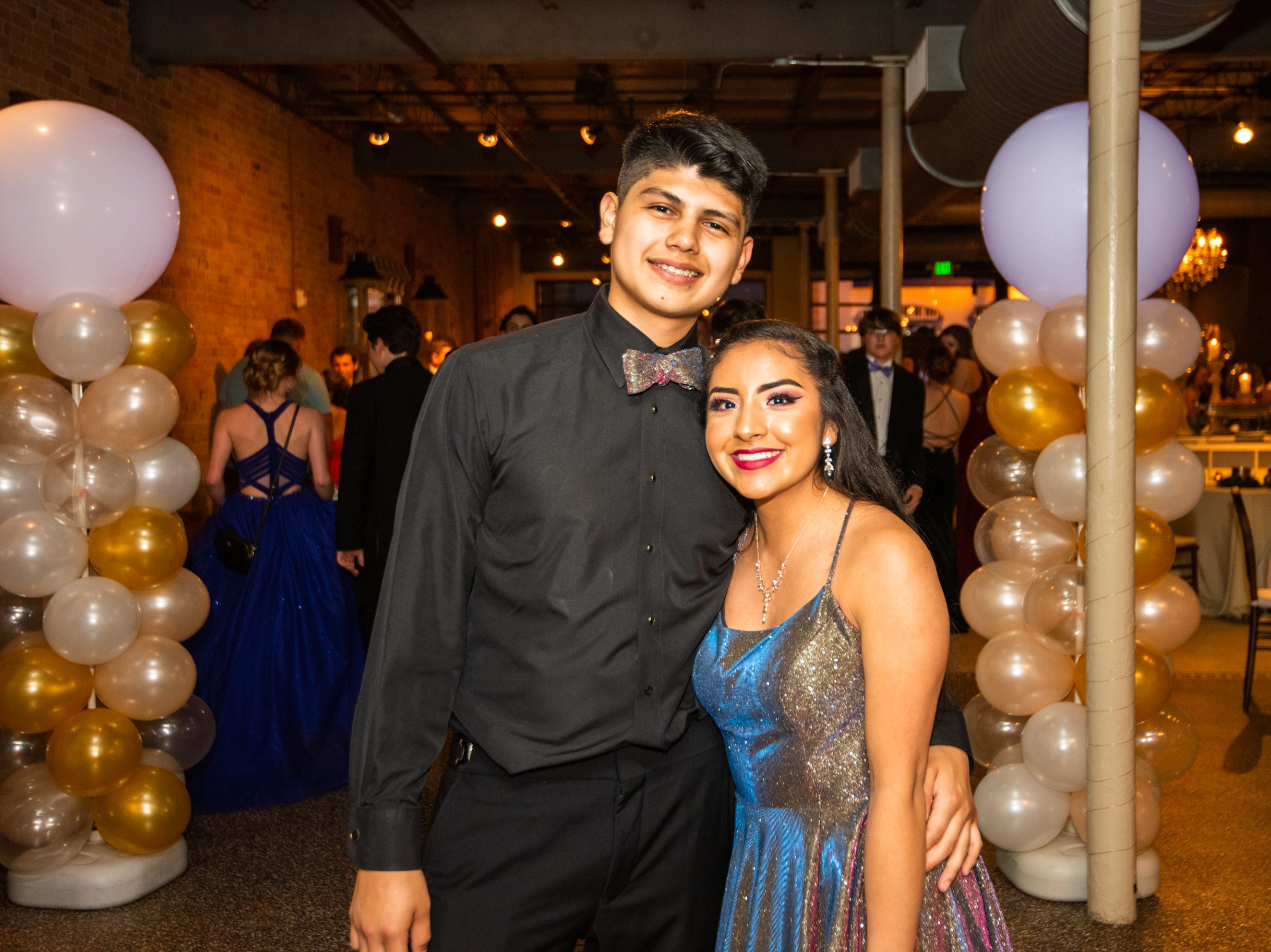 Reynolds High School students celebrate and dance the night away at prom on May 4, 2019, at The Venue in downtown Asheville.