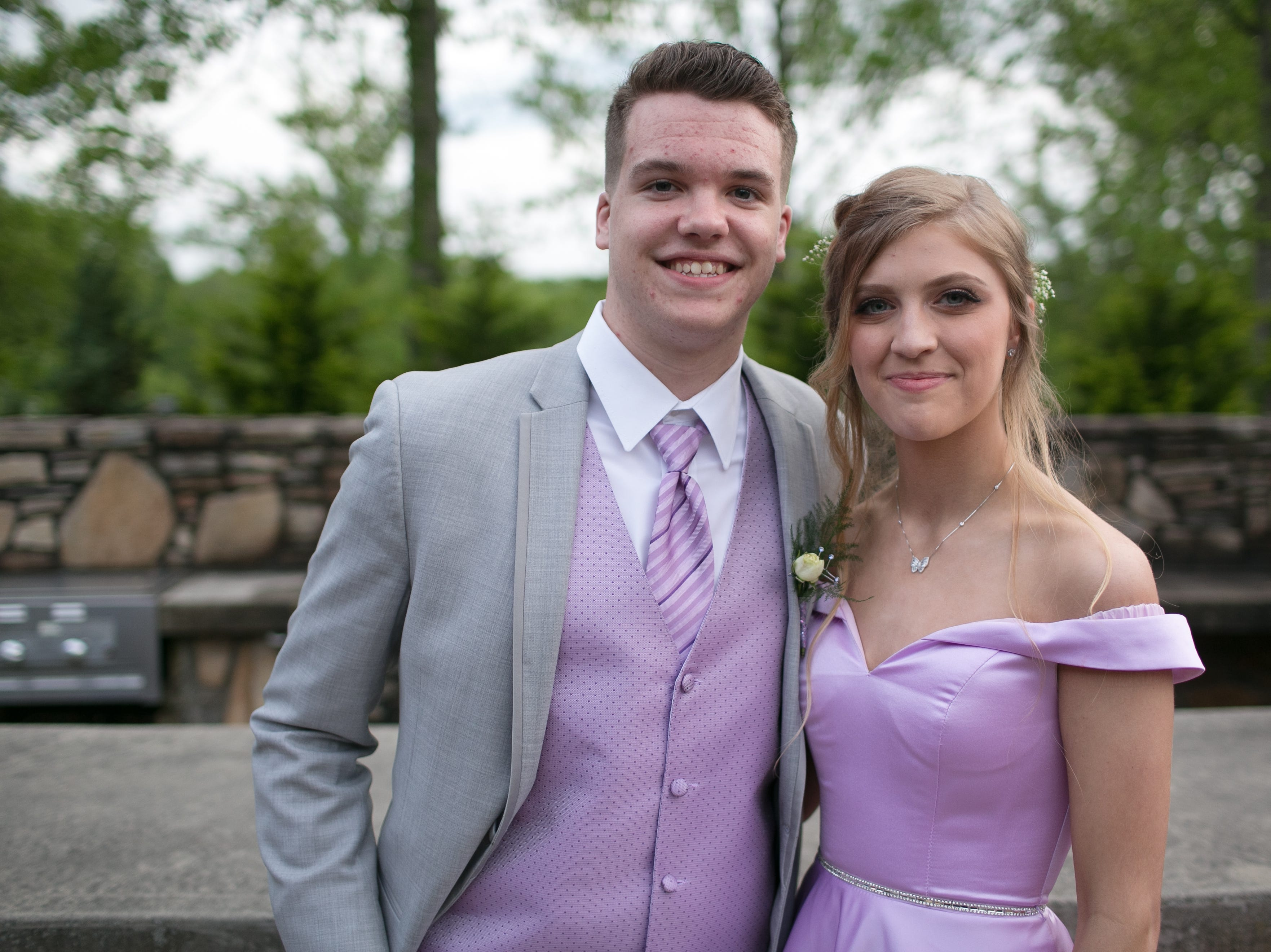 Madison High School celebrates prom on May 4, 2019, at the Crest Center Pavilion.
