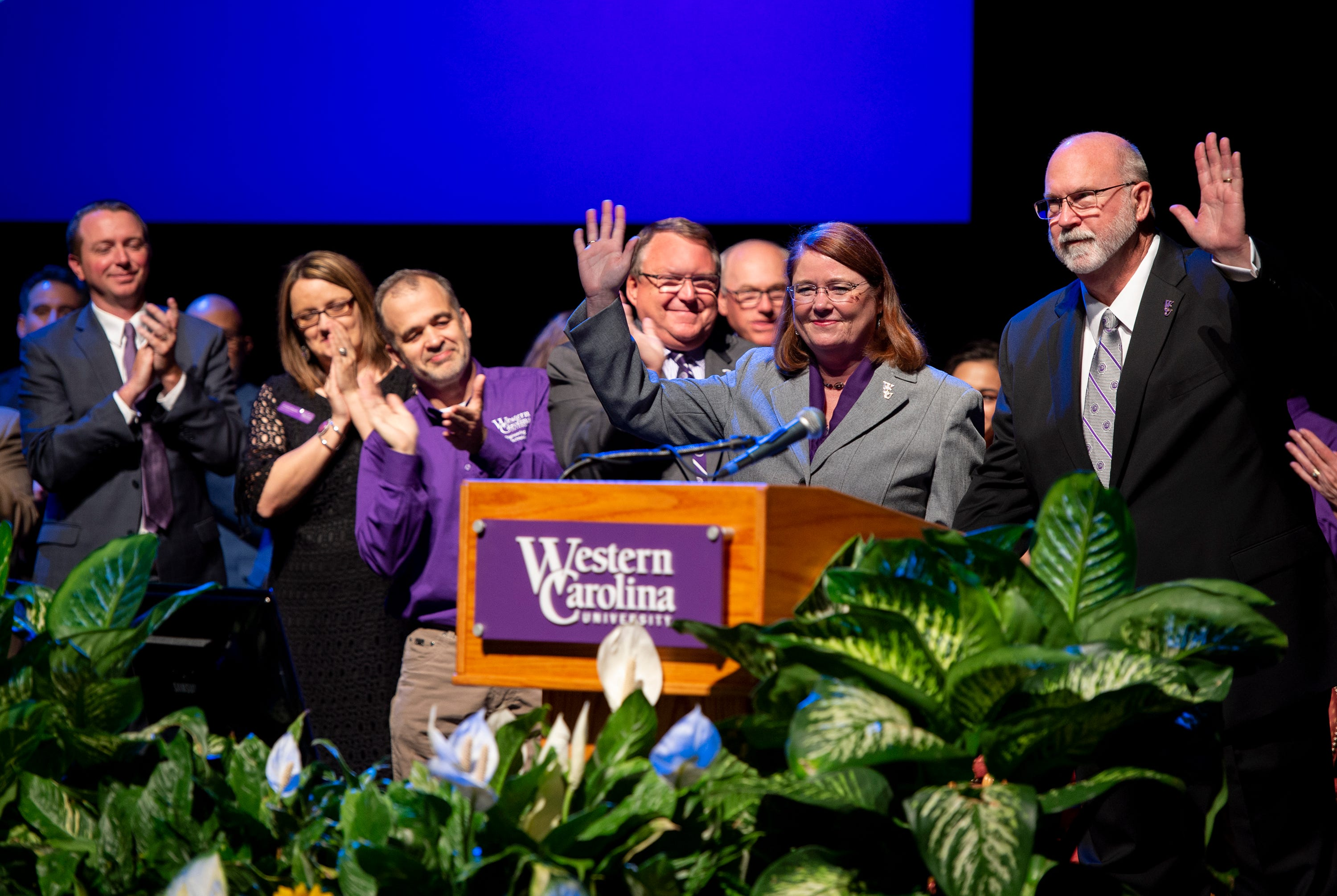 WCU welcomes new chancellor Kelli Brown to campus