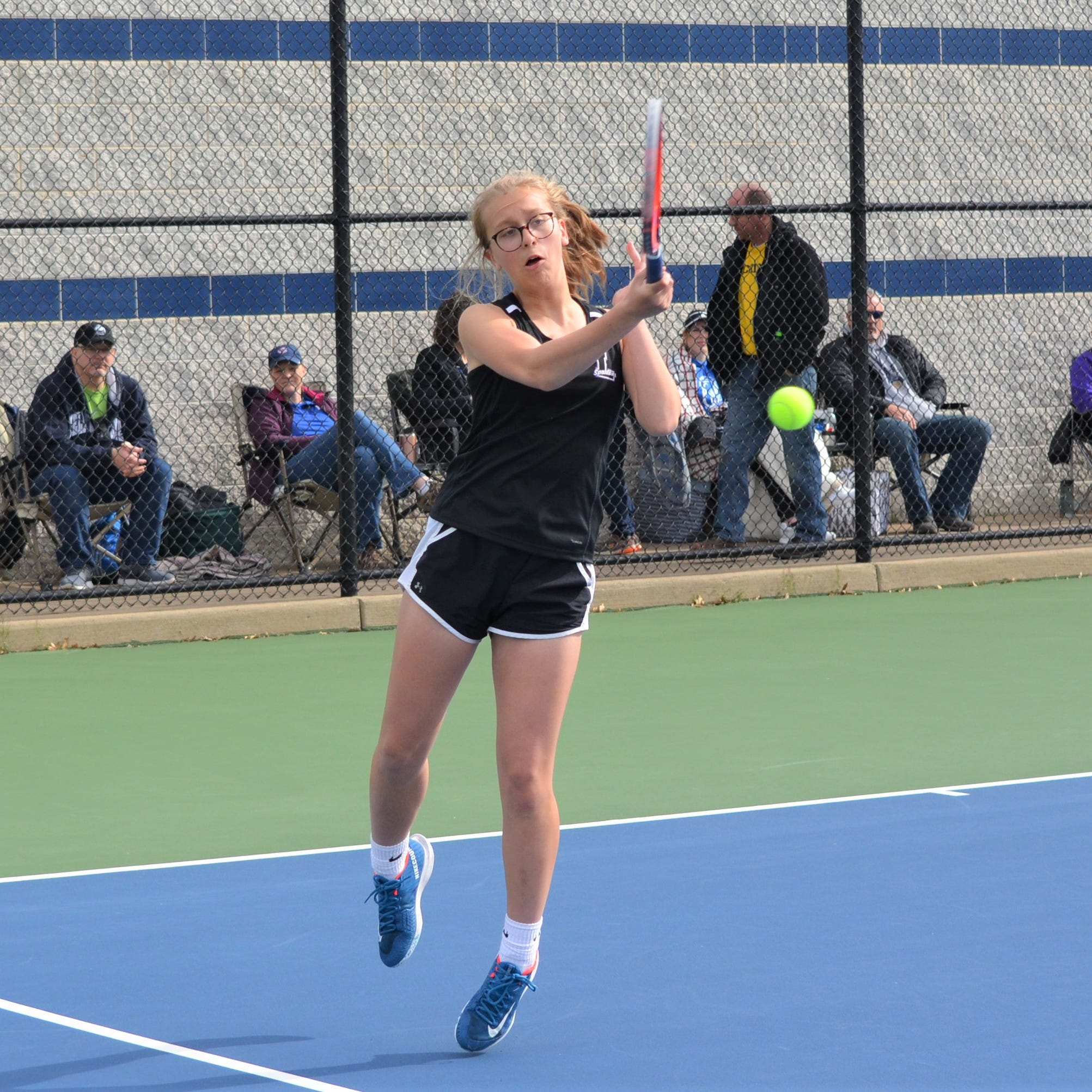 Lakeview girls win 13th straight All-City tennis title