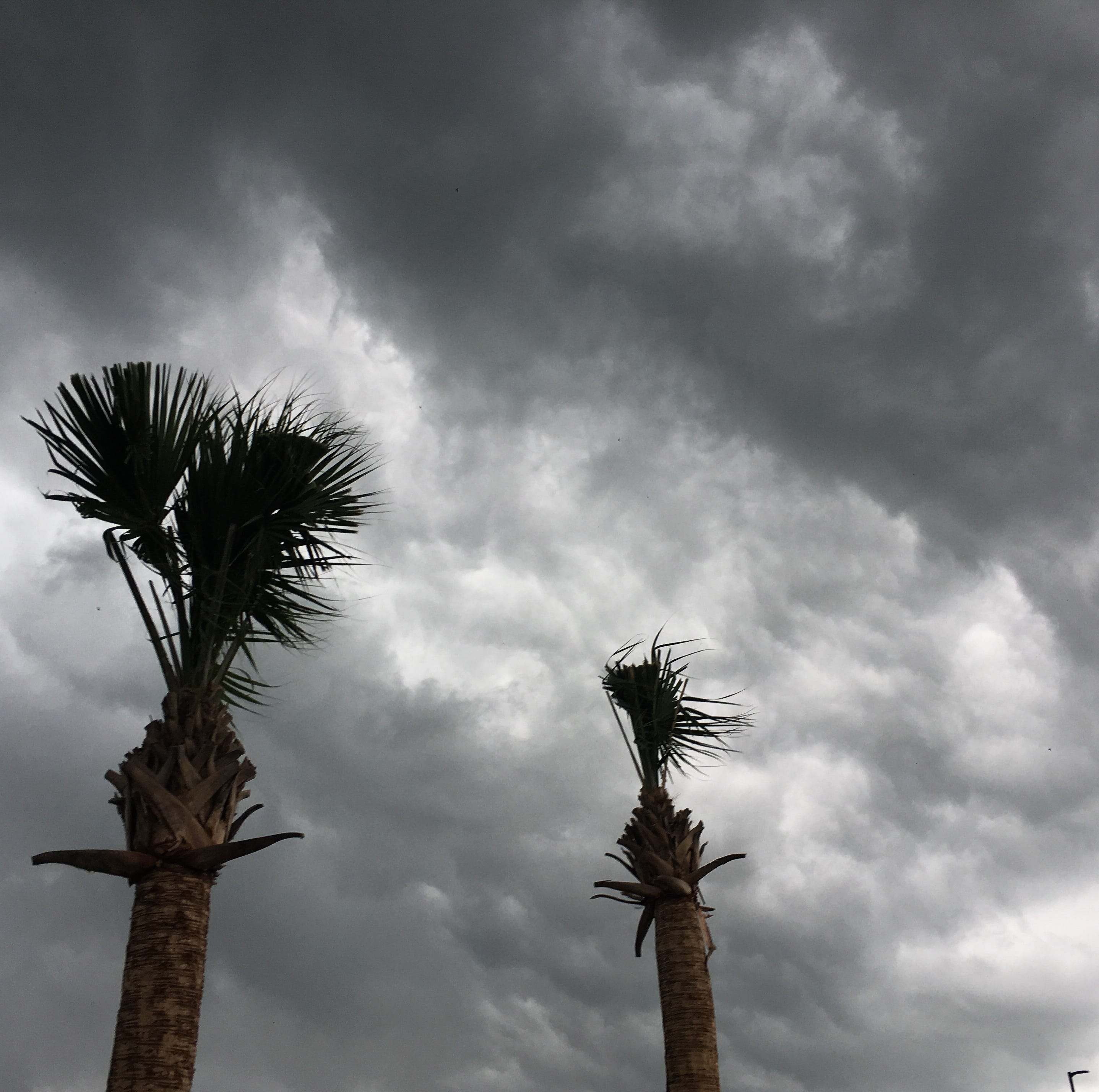 Stormy weather moves across Space Coast, bringing lightning, heavy rain