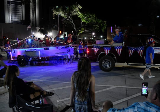 Buc Days hosted their 82nd annual Illuminated Night Parade, Saturday, May 4, 2019, in downtown. 