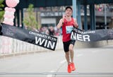For the second time in the last three years, Jack Randall is the Flying Pig Marathon champion