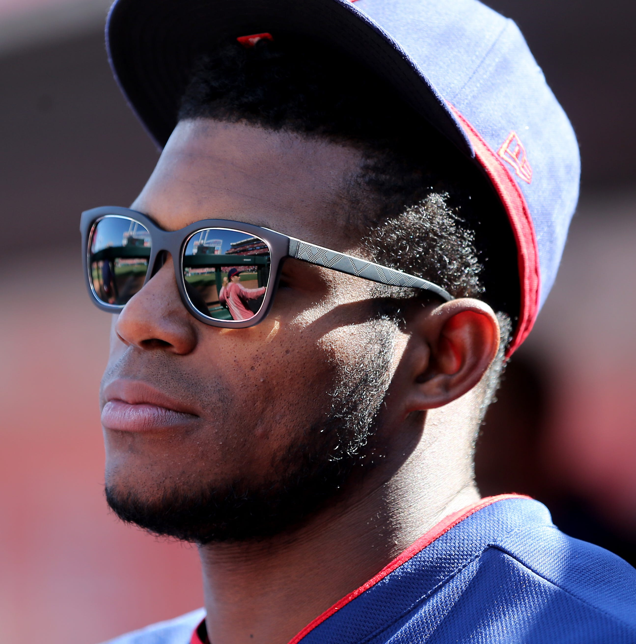 Traditionally a slow starter, Cincinnati Reds' Yasiel Puig feels like the hits are coming