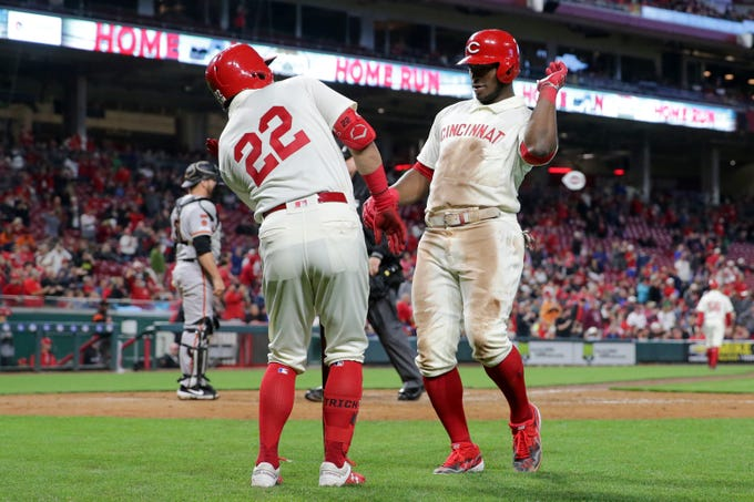 Image result for reds giants