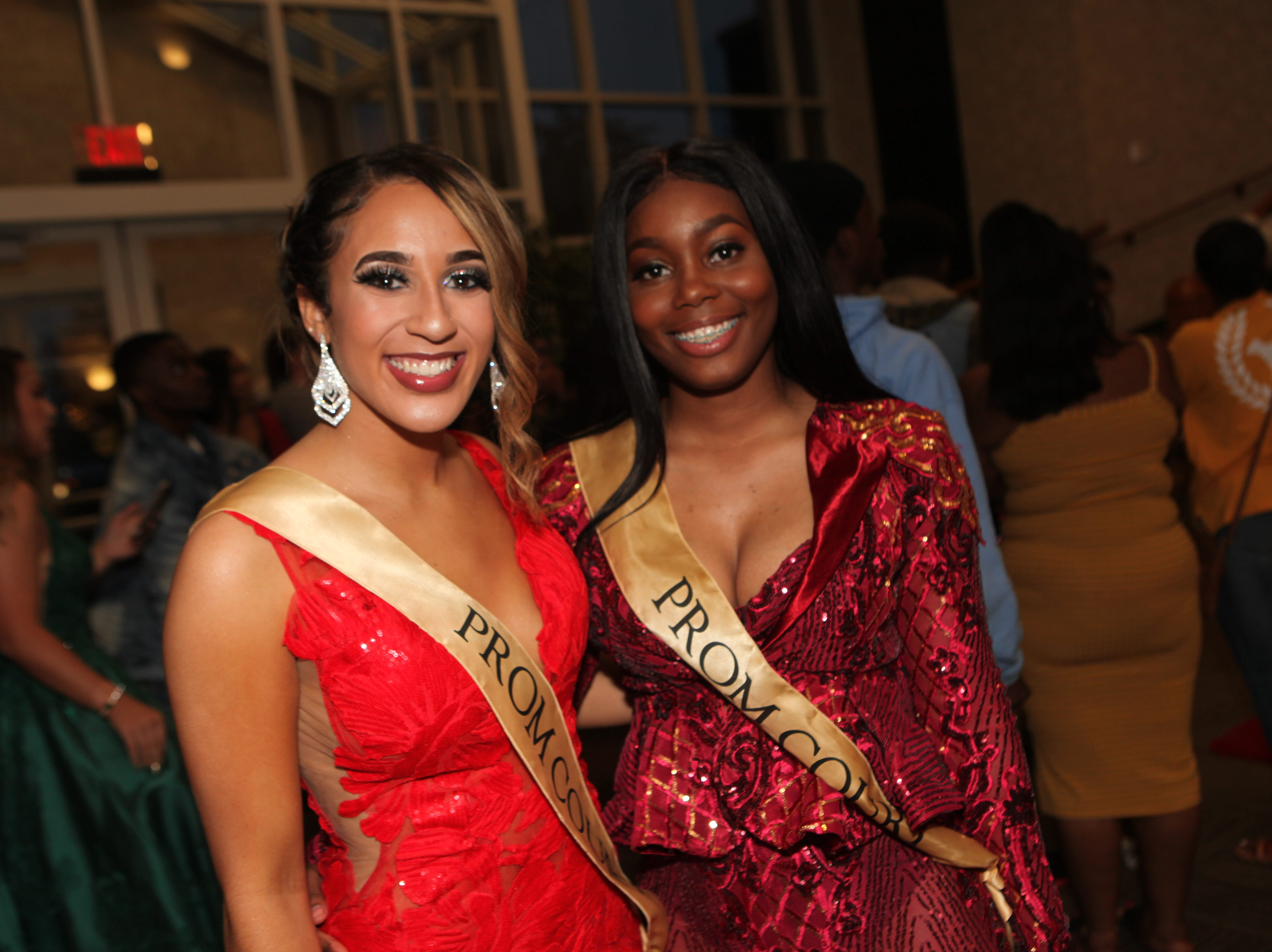 Karrington Craine and Anthonique Green at West Creek High School's 2019 prom 2019, Saturday, May 4.