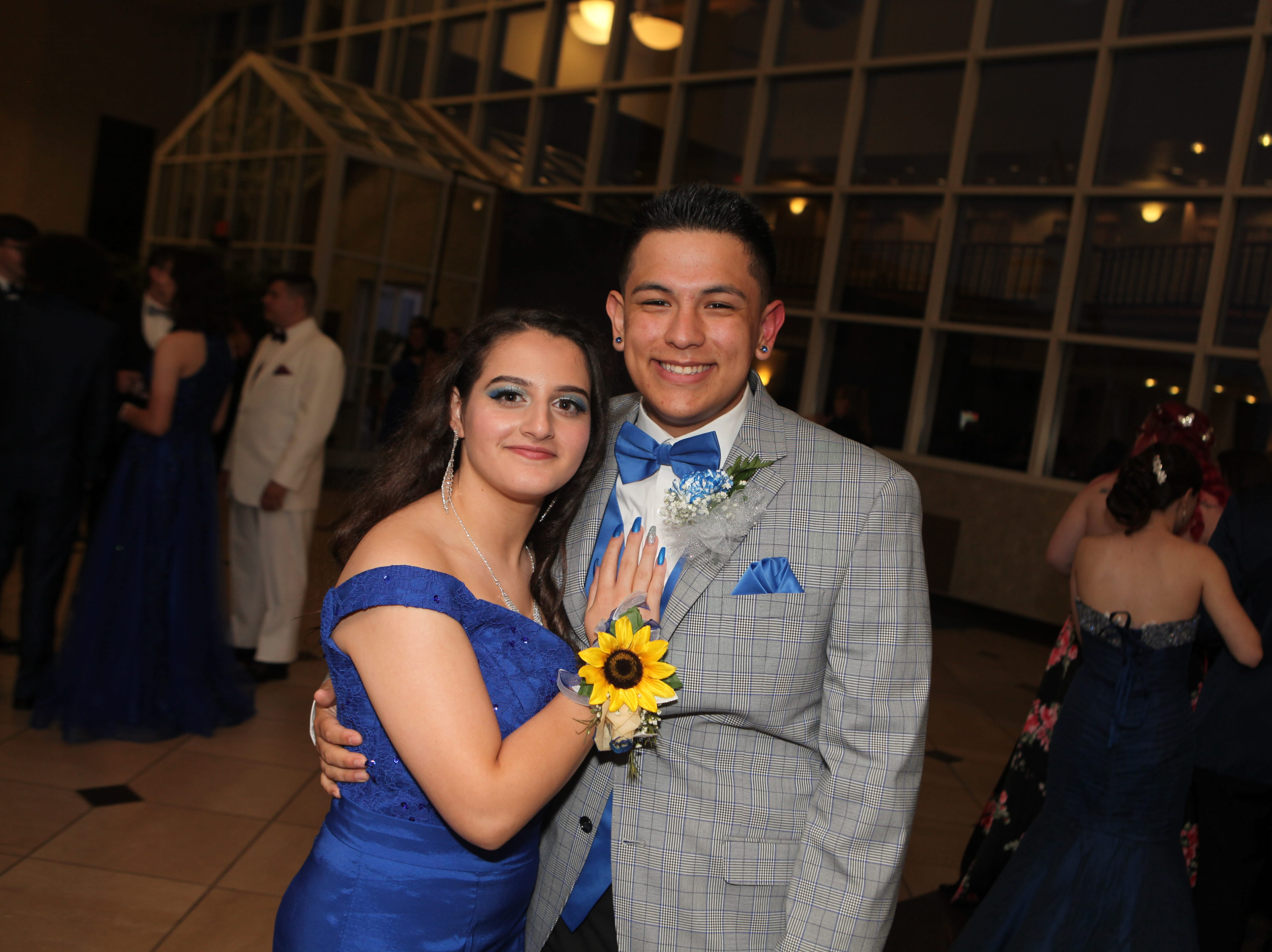 Danya Rabahat and Tommy Avila at West Creek High School's 2019 prom 2019, Saturday, May 4.