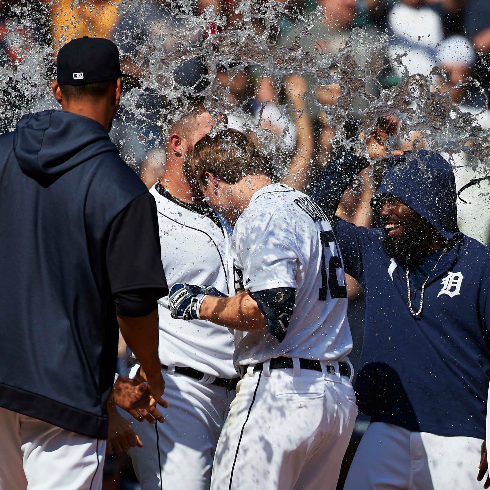 Detroit Tigers top Royals on Brandon Dixon's walk-off home run