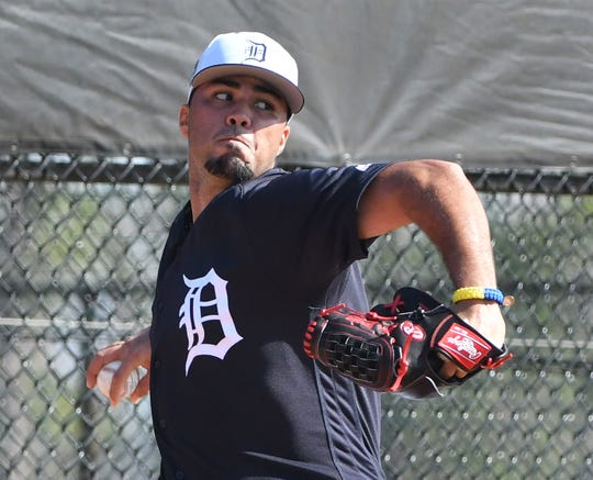 Eduardo Jimenez was called up from Triple-A Toledo to join the Tigers' bullpen.