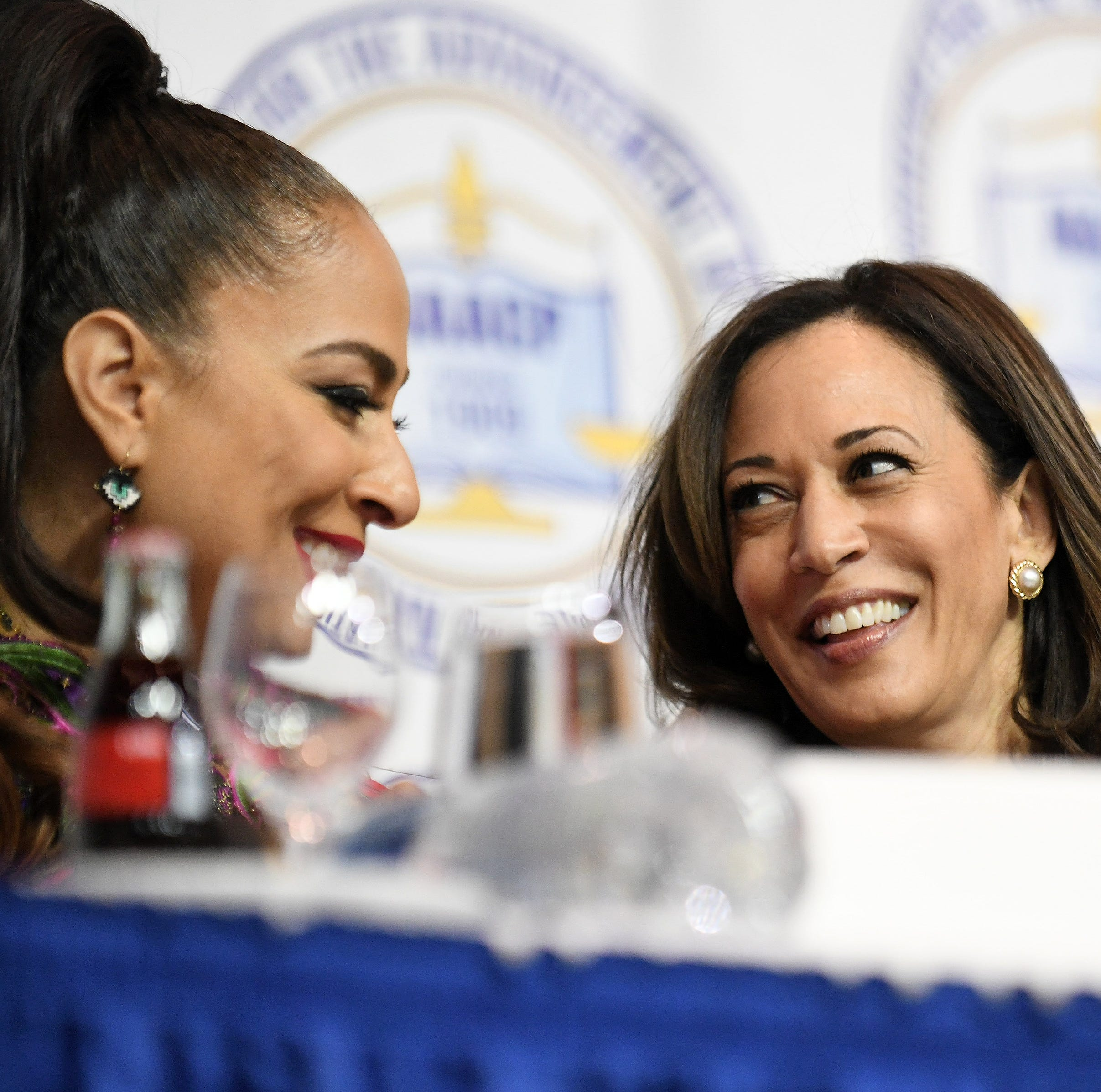 Harris at NAACP dinner in Detroit: Time to 'speak truth'