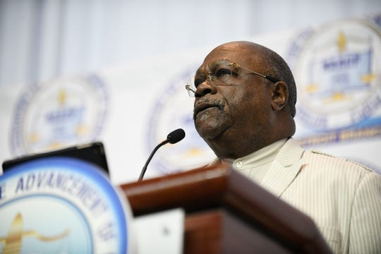 NAACP Detroit president, the Rev. Dr. Wendell Anthony, called for a continued fight to preserve healthcare, as well as placing fair and impartial judges at every level of the judicial system at at Sunday's Freedom Fund dinner.