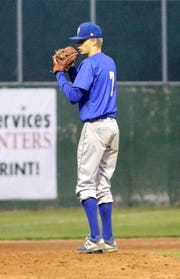 Connor Godwin pitched a three-hitter for Horseheads in a 3-1 win over Elmira in the second game of a doubleheader May 4, 2019 at Dunn Field.