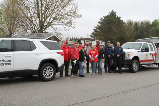 On Saturday volunteers went door to door offering free smoke alarms and education to residents in the Mid-City Moble Home park in Fremont.