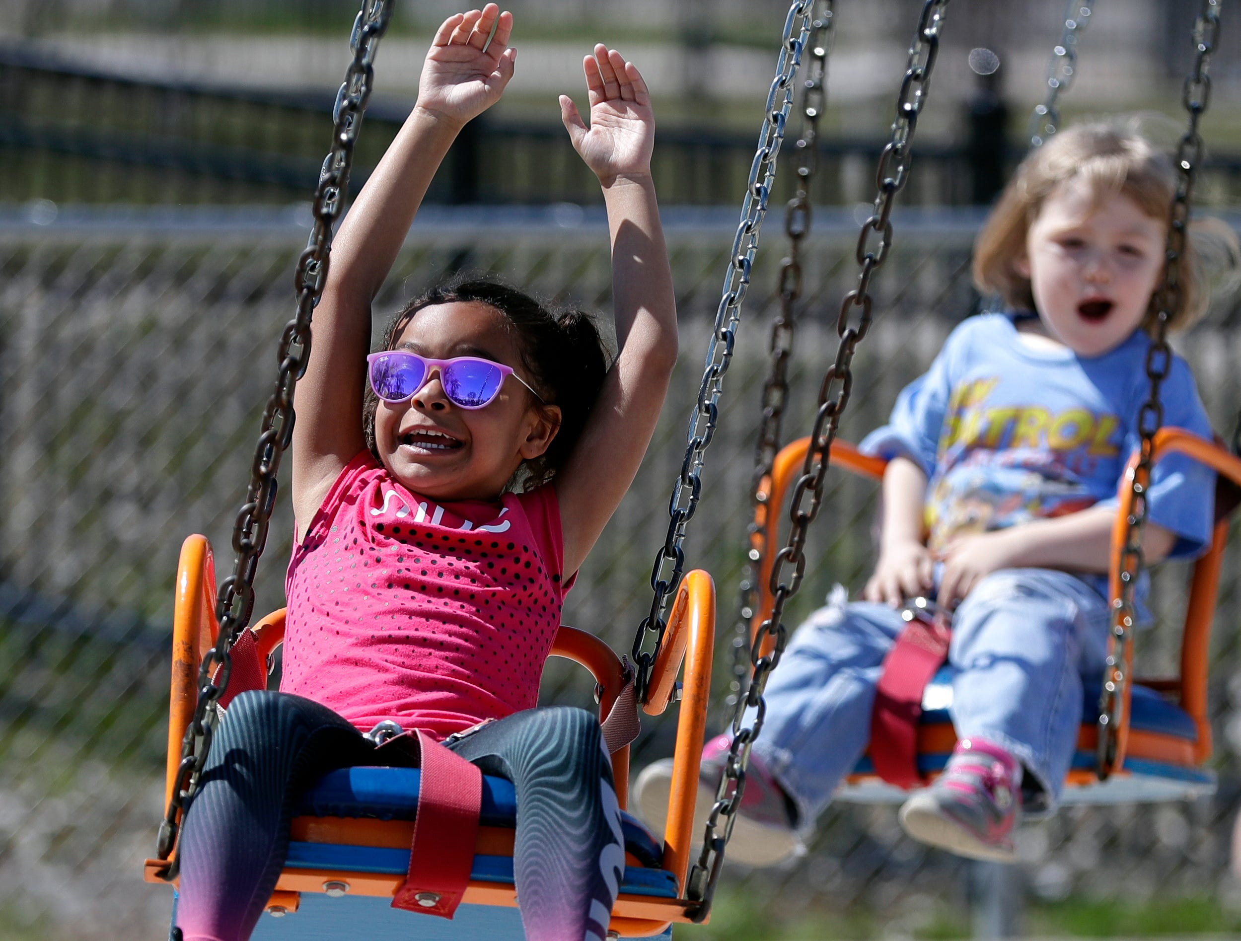 Bay Beach Amusement Park opened for the 2019 season on Saturday in Green Bay.