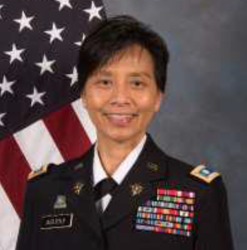 Colonel Esther Aguigui  given command as the Adjutant General of the Guam National Guard