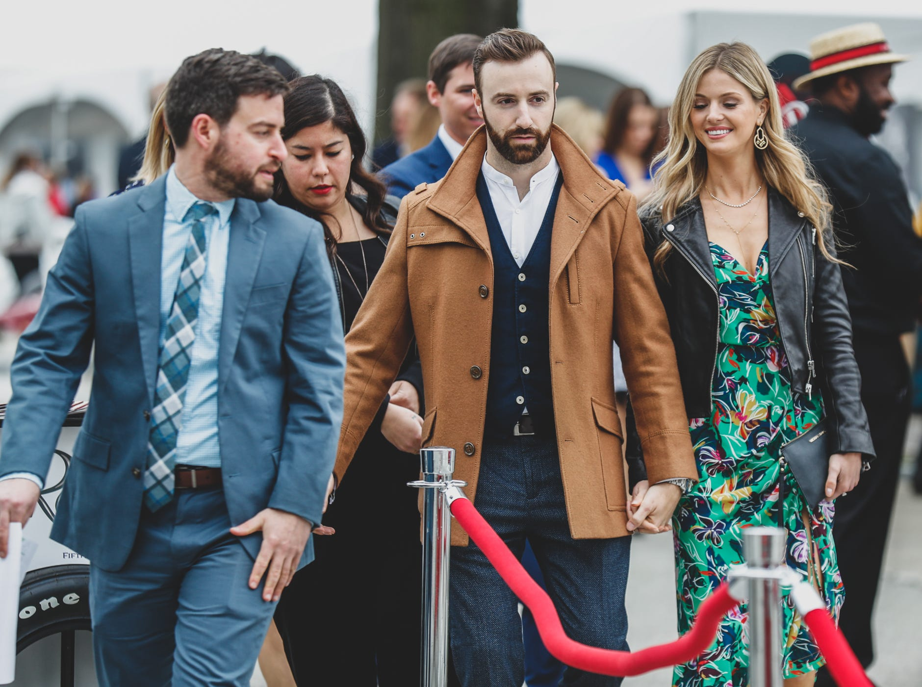 Guests dress to impres during the Rev Indy fundraiser, held at the Indianapolis Motor Speedway on Saturday, May 4, 2019. Funds raised support the IU Health Foundation statewide and the IU Health Emergency Medical Center at IMS.
