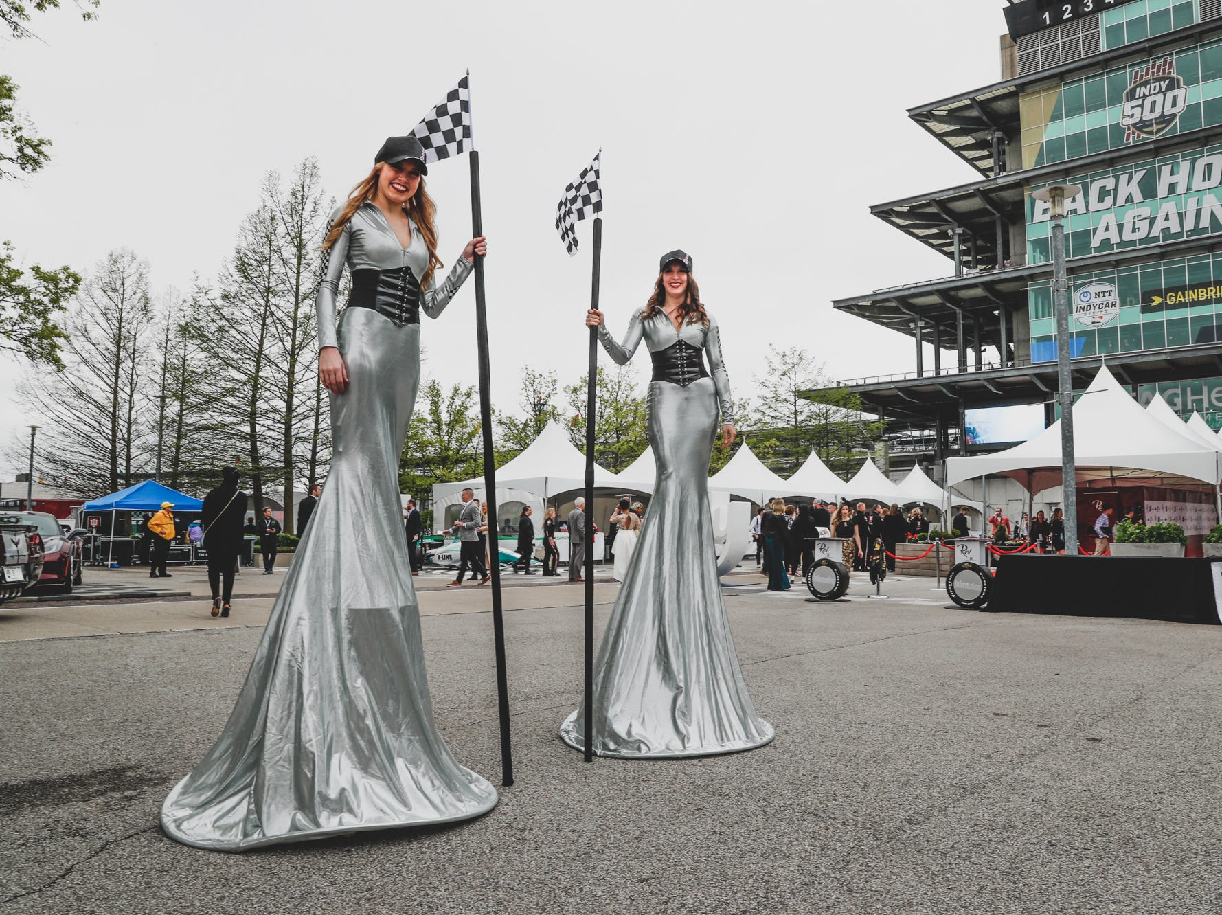 Guests attend the Rev Indy fundraiser, held at the Indianapolis Motor Speedway on Saturday, May 4, 2019. Funds raised support the IU Health Foundation statewide and the IU Health Emergency Medical Center at IMS.