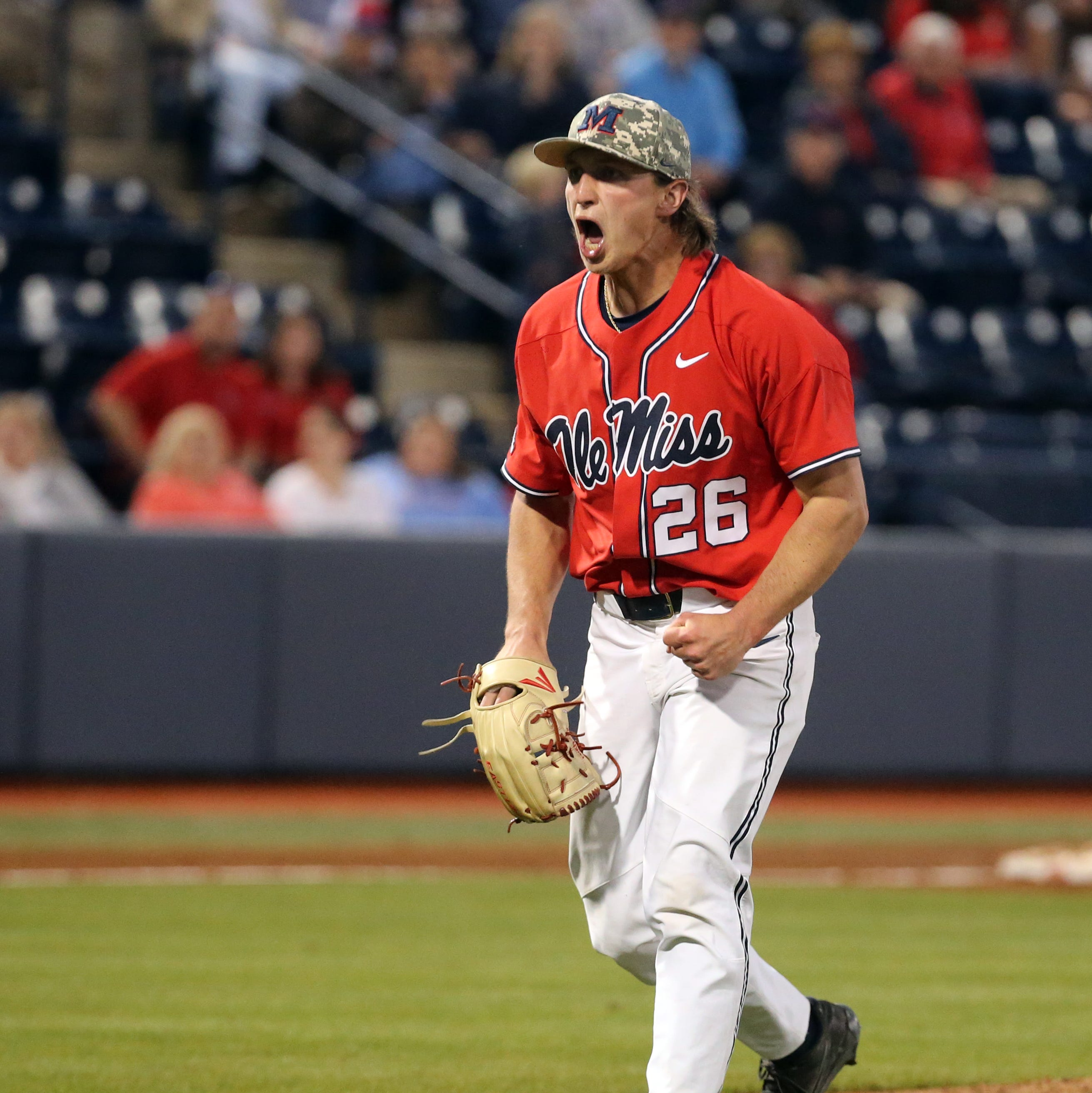 Ole Miss evens series with No. 9 LSU behind strong pitching performance, two big HRs