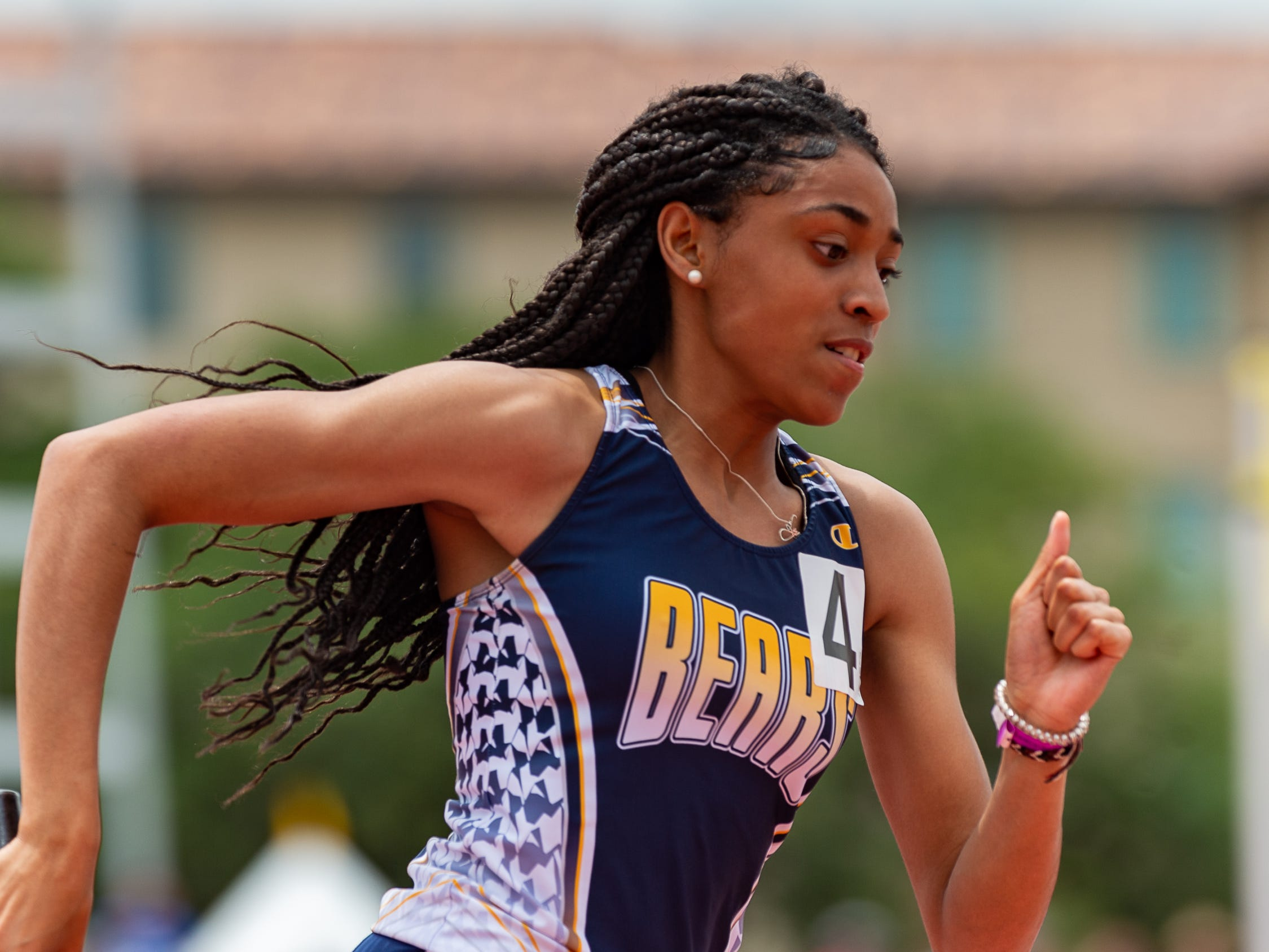 Carencro girls 4x800 relay at The LHSAA Sate Track Meet at Bernie Moore Track in Baton Rouge, LA. Saturday, May 4, 2019.
