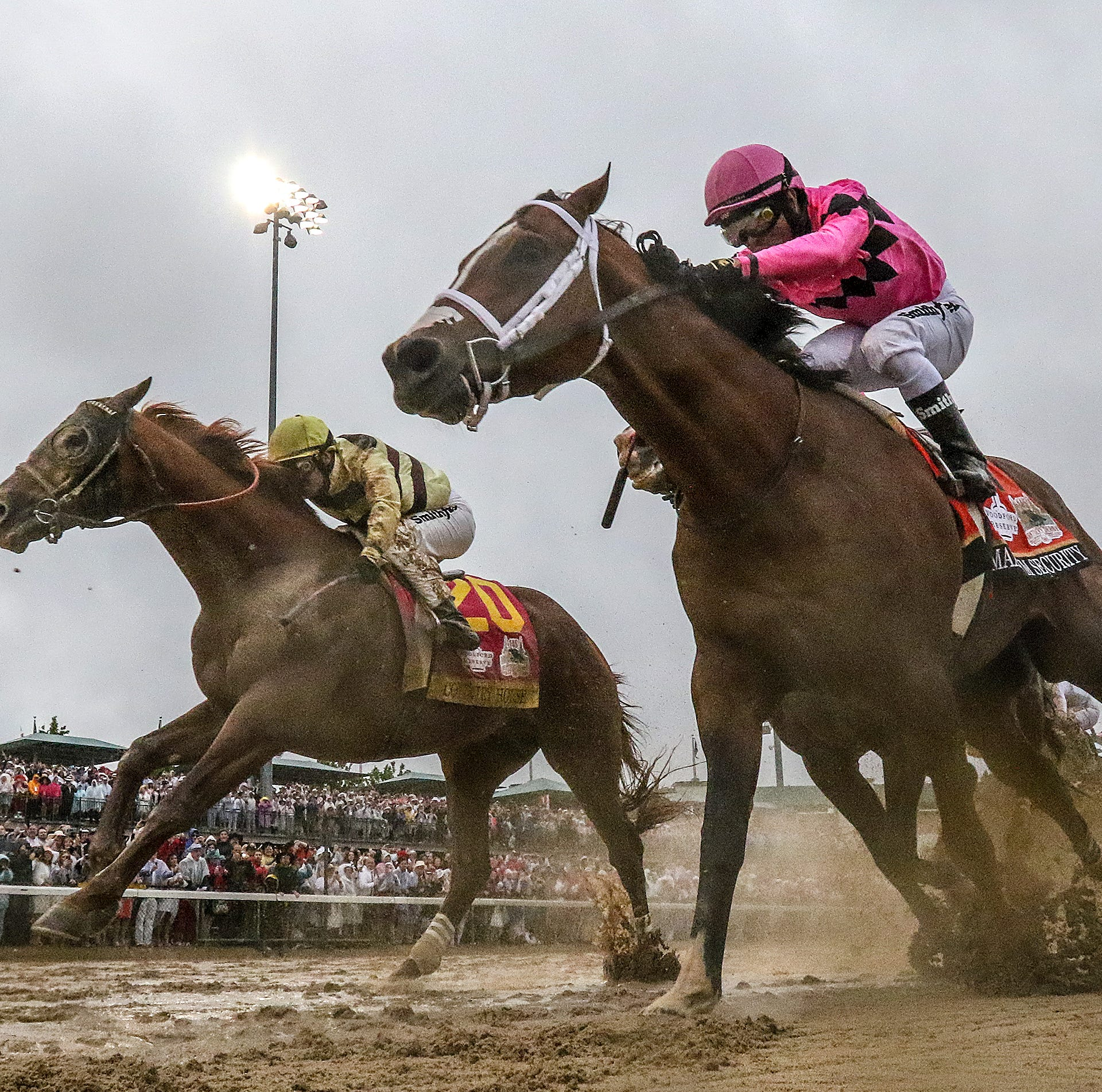 Kentucky Derby winner Country House trained by South Dakotan