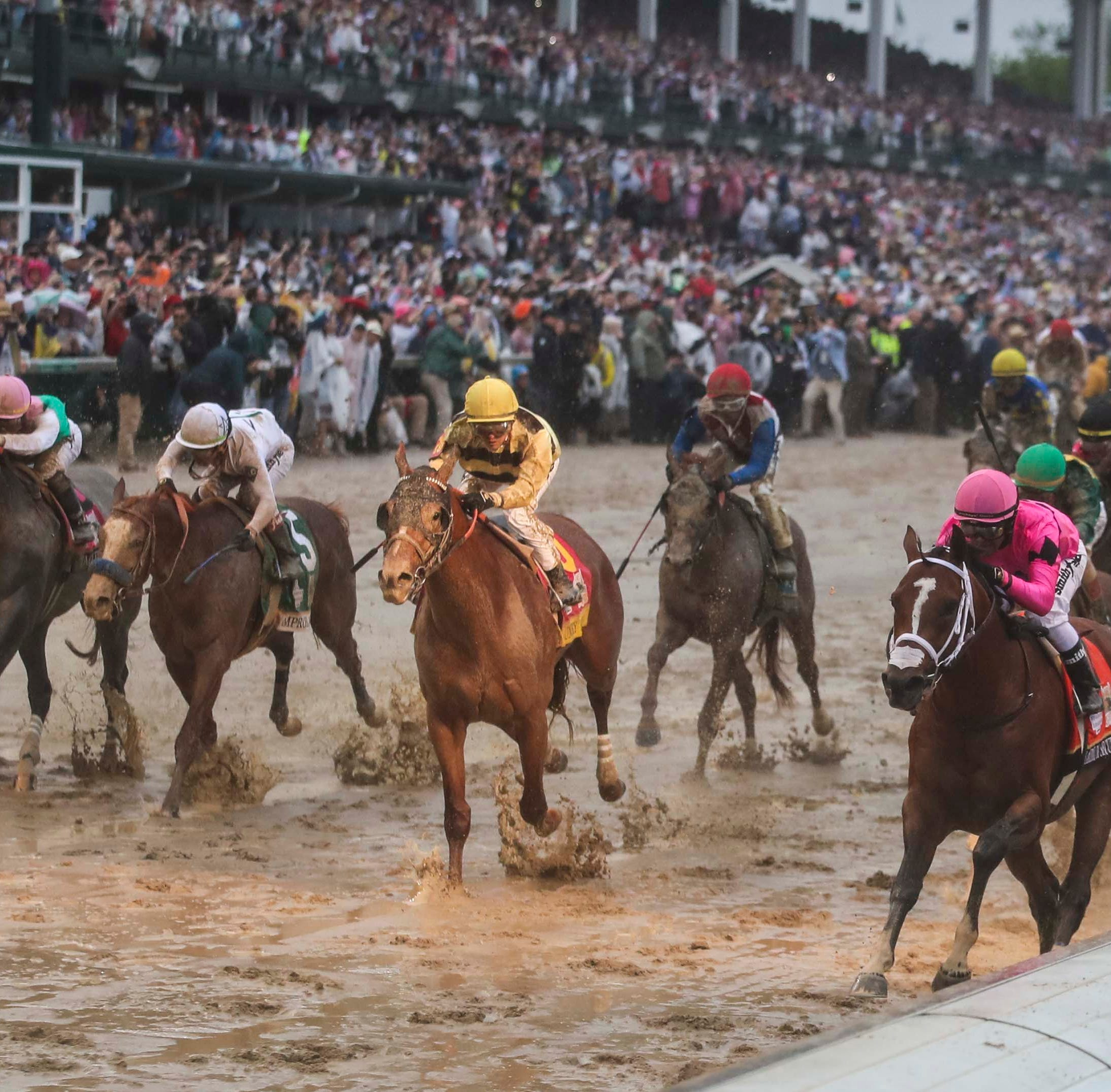 With historic disqualification, NBC's Kentucky Derby coverage gets real after being ridiculous