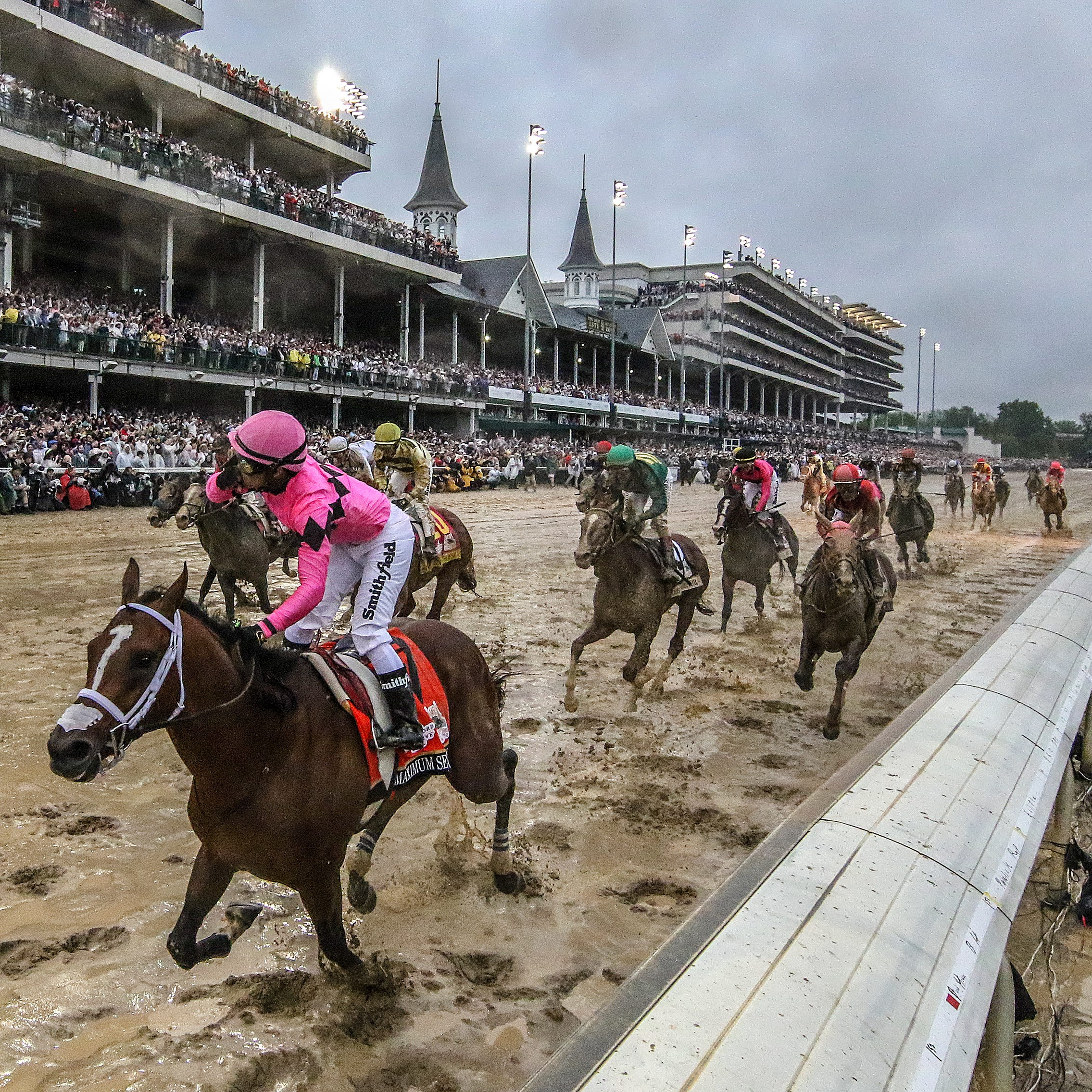 Maximum Security jockey appeals 'unsupported' and 'unduly harsh' Kentucky Derby suspension