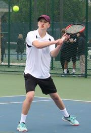 Nolan Glazier was runner-up at No. 1 singles for Ashland in Saturday's Ohio Cardinal Conference tennis tournament.