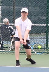 Lexington's Tommy Secrist is one of the top returning tennis players in 2020-21.