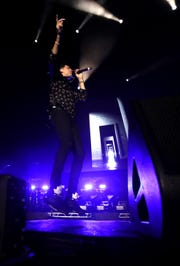 G-Eazy performs Saturday at the 2019 Beale Street Music Festival, part of the Memphis in May International Festival at Tom Lee Park in Downtown Memphis.