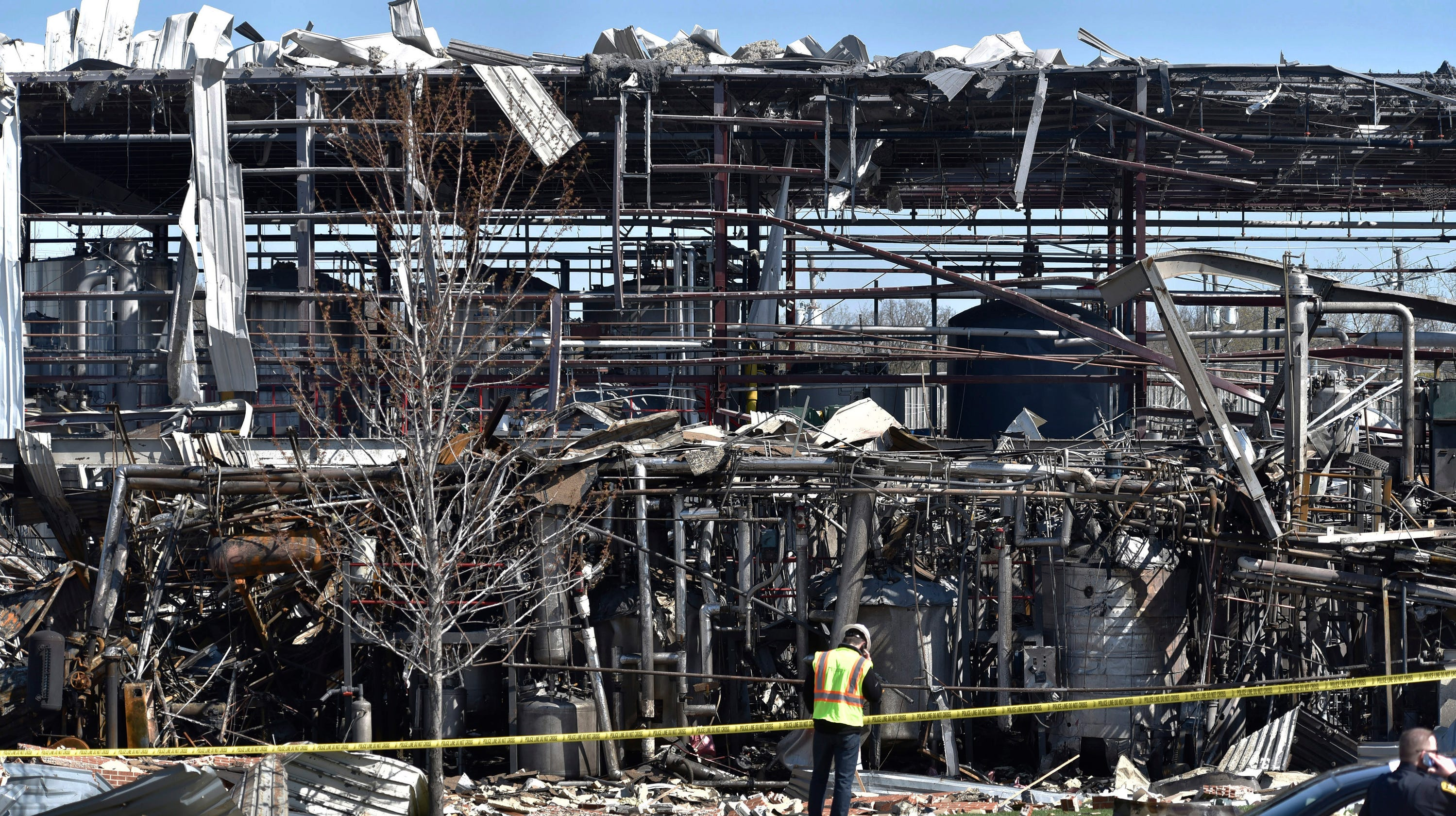 Waukegan Factory Explosion: Four Dead; Three Victims From