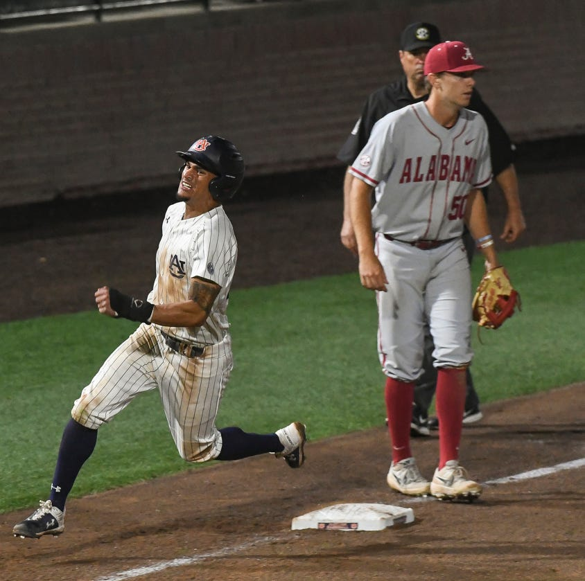 Auburn baseball takes series from Alabama at Plainsman Park for first time since 2011