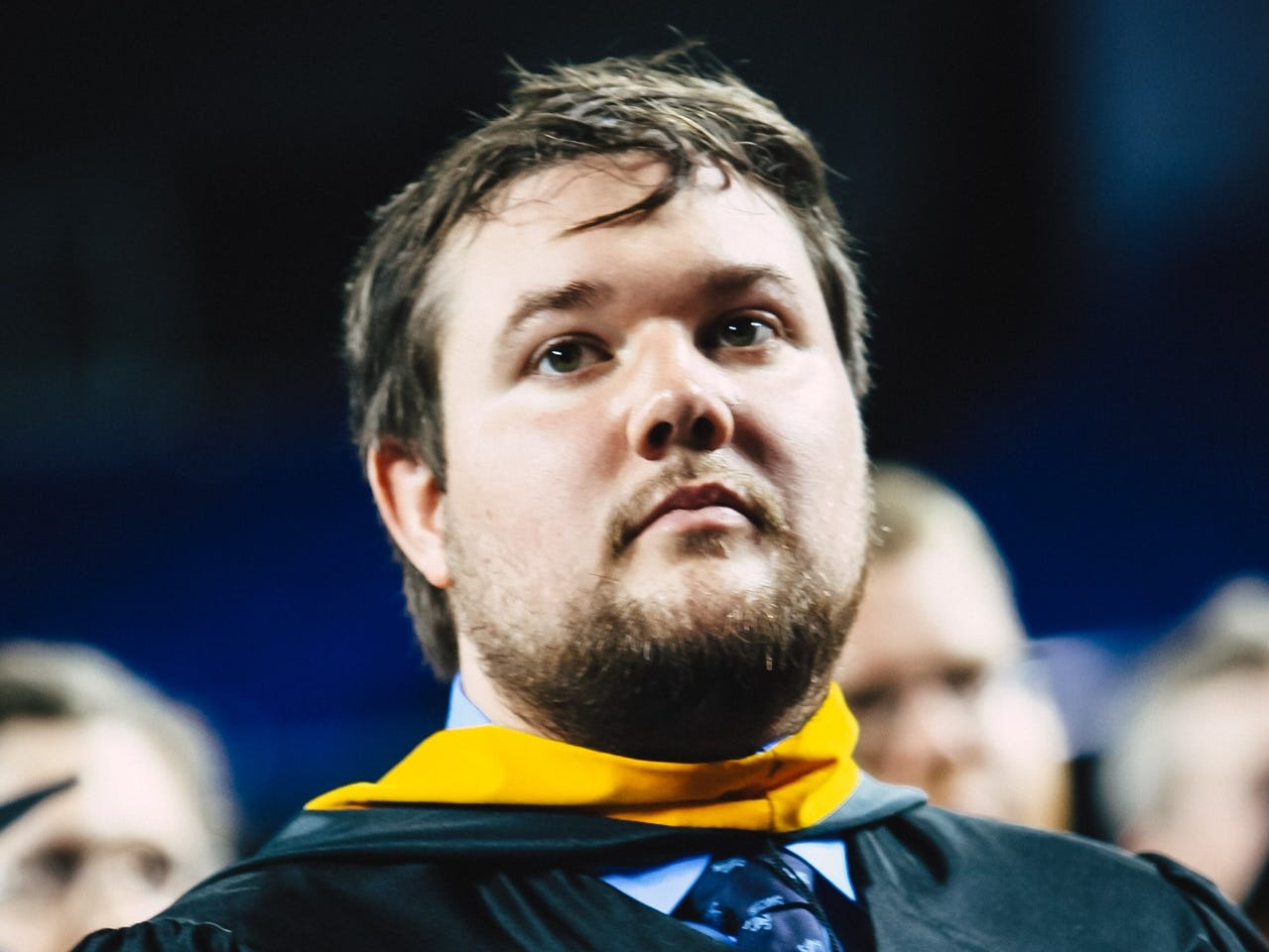 MTSU held commencement exercises for graduate students on Friday, May 3, 2019 at Murphy Center.