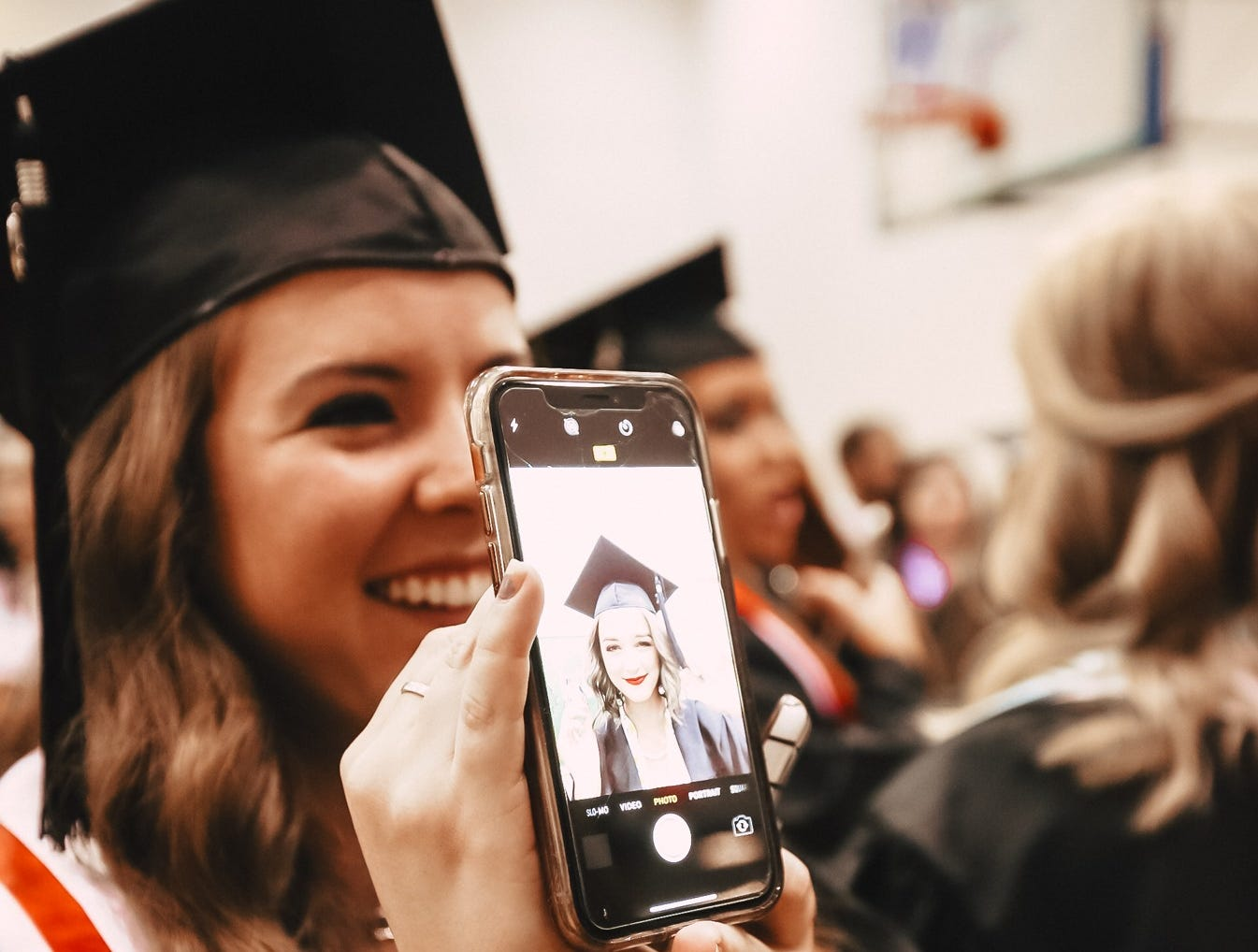 MTSU held commencement exercises on Saturday, May 4, 2019 for undergraduates at Murphy Center.