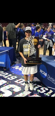 Newark Catholic graduate Kelly Clapper helped Thomas More win the NCAA Division III national title earlier this spring.