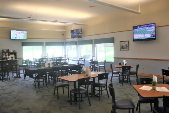 A refurbished clubhouse is one of the improved offerings at Hilltop.