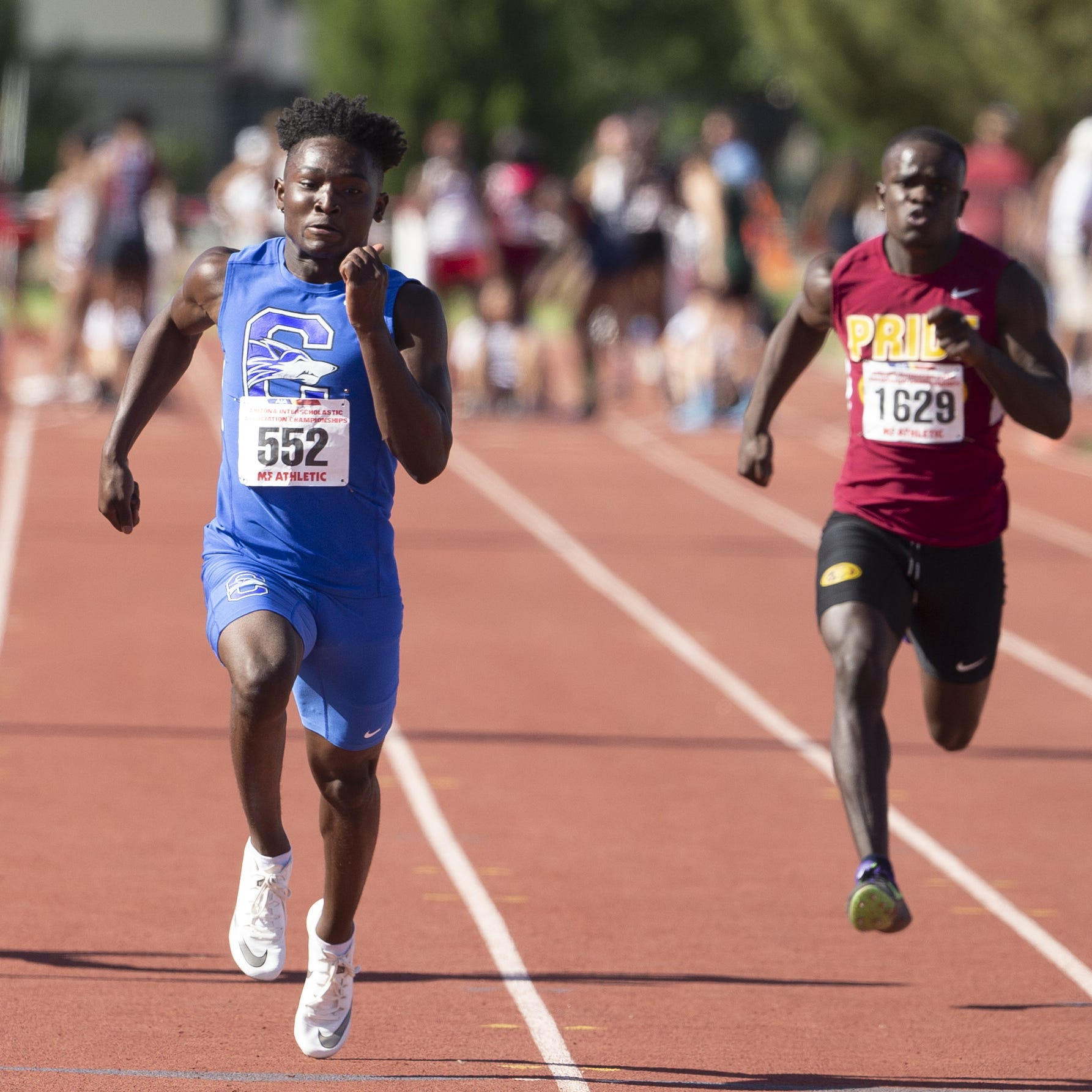 Chandler's Quaron Adams runs 9th-fastest U.S. all-time 100 for freshman at state track finals