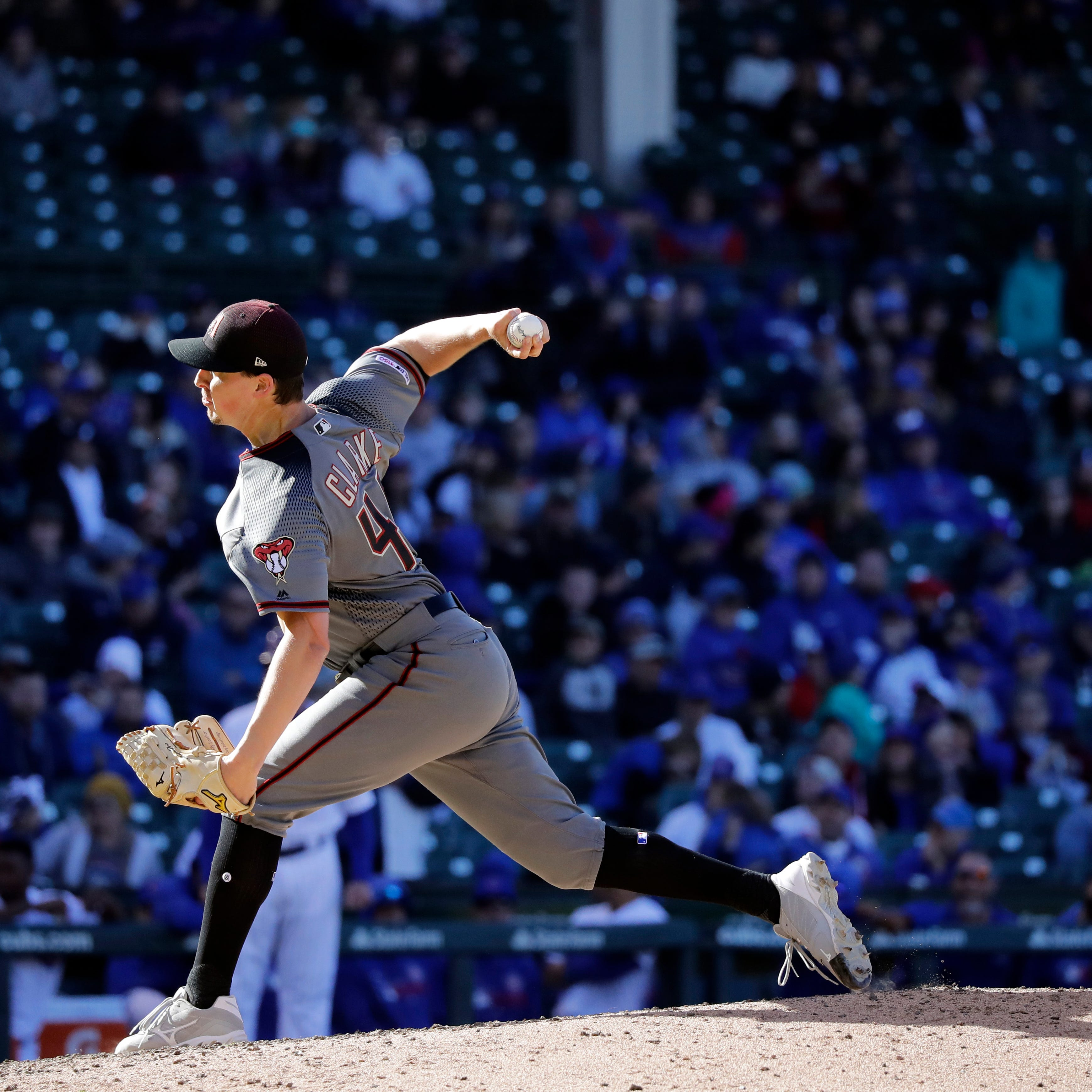 Taylor Clarke to get first crack at Zack Godley's rotation spot for Diamondbacks