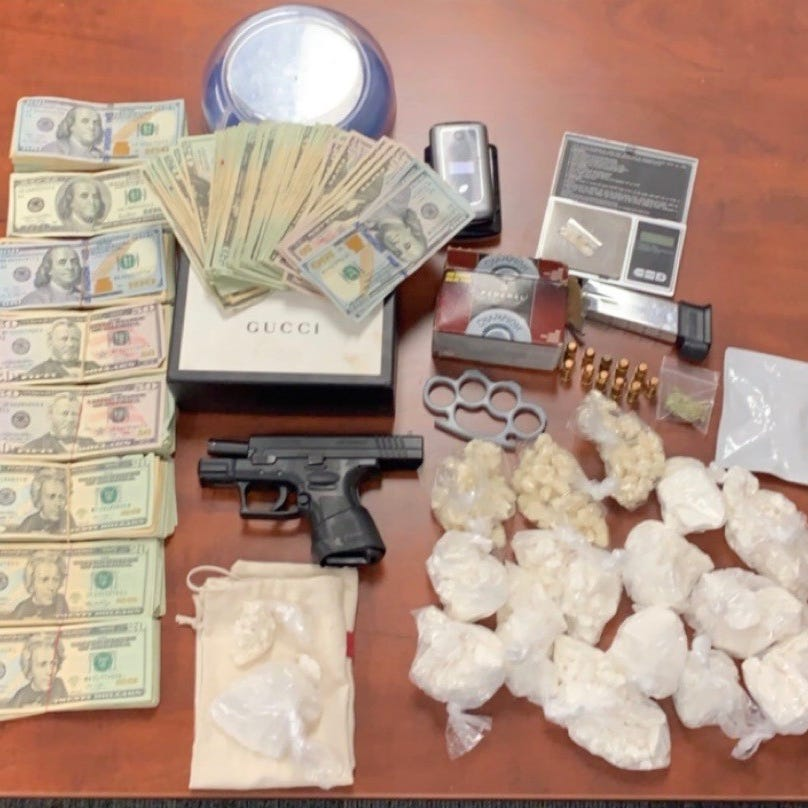 New Paltz man arrested after seizure of cocaine, crack cocaine, handgun, BMW