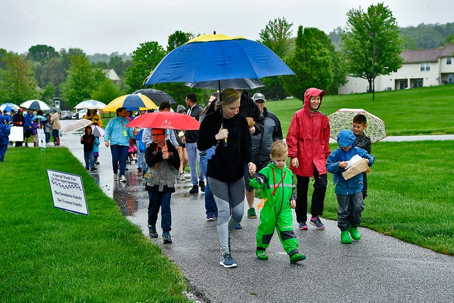 The Jewish Family Services (JFS) hold their 18th annual Hustle 4 Hunger Walkathon at Springettsbury Township Park, Sunday, May 5, 2019.John A. Pavoncello photo