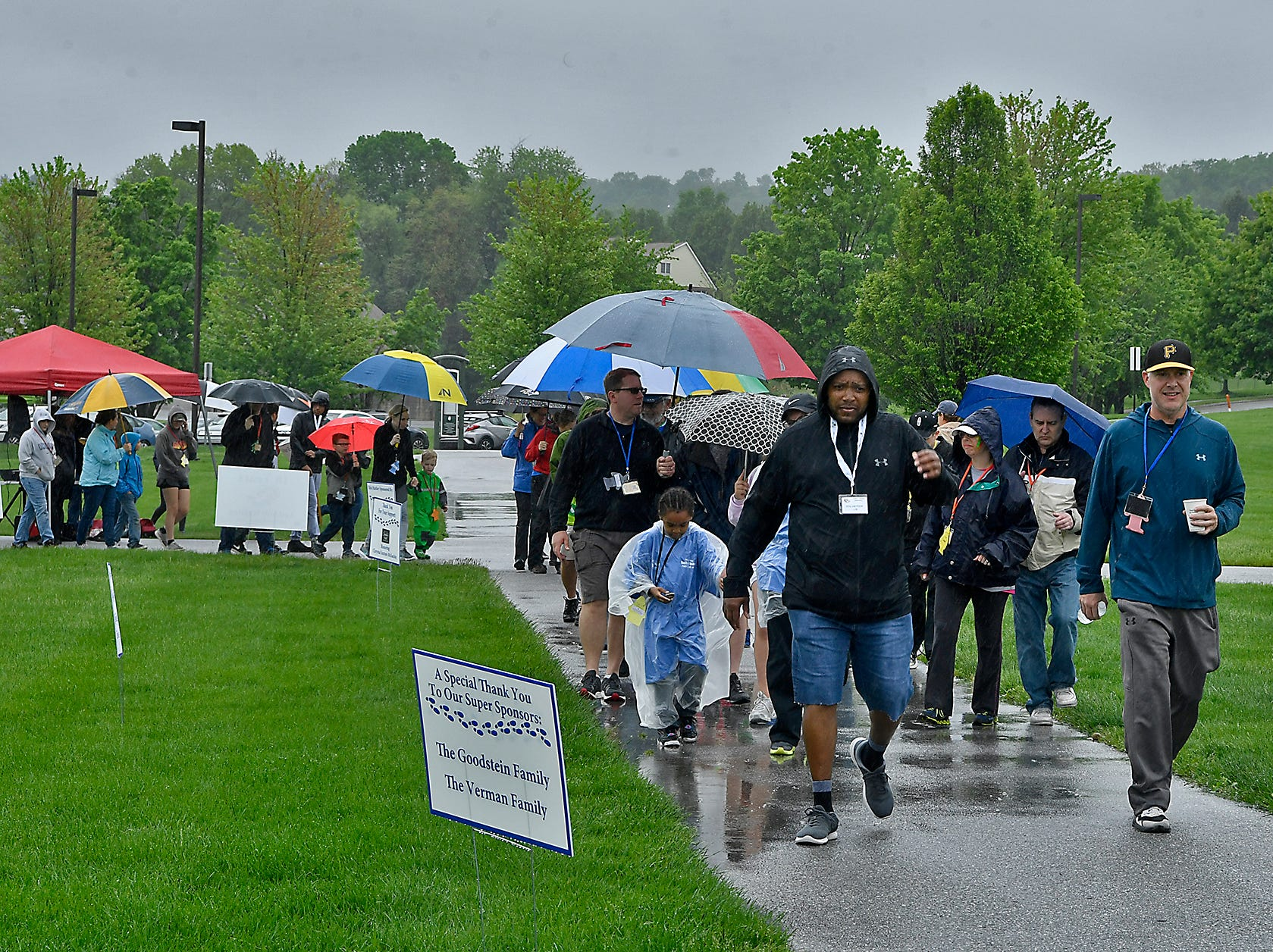 The Jewish Family Services (JFS) hold their 18th annual Hustle 4 Hunger Walkathon at Springettsbury Township Park, Sunday, May 5, 2019.