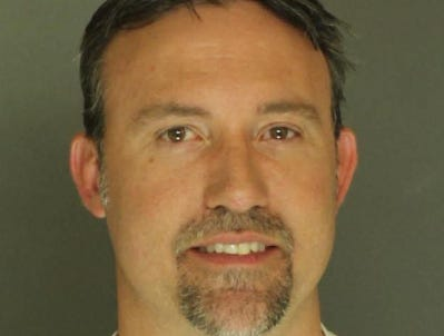 Aron Hoffman, arrested for DUI.