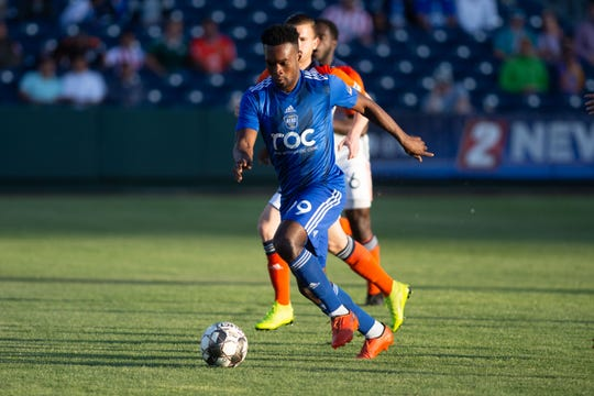 Reno 1868 FC tied with Tulsa Roughnecks FC 2-2, on Saturday at Greater Nevada Field in Reno.  ​