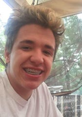 Michael Fulkerson, 15, in an undated photo provided by Sparks Police. He no longer has braces.
