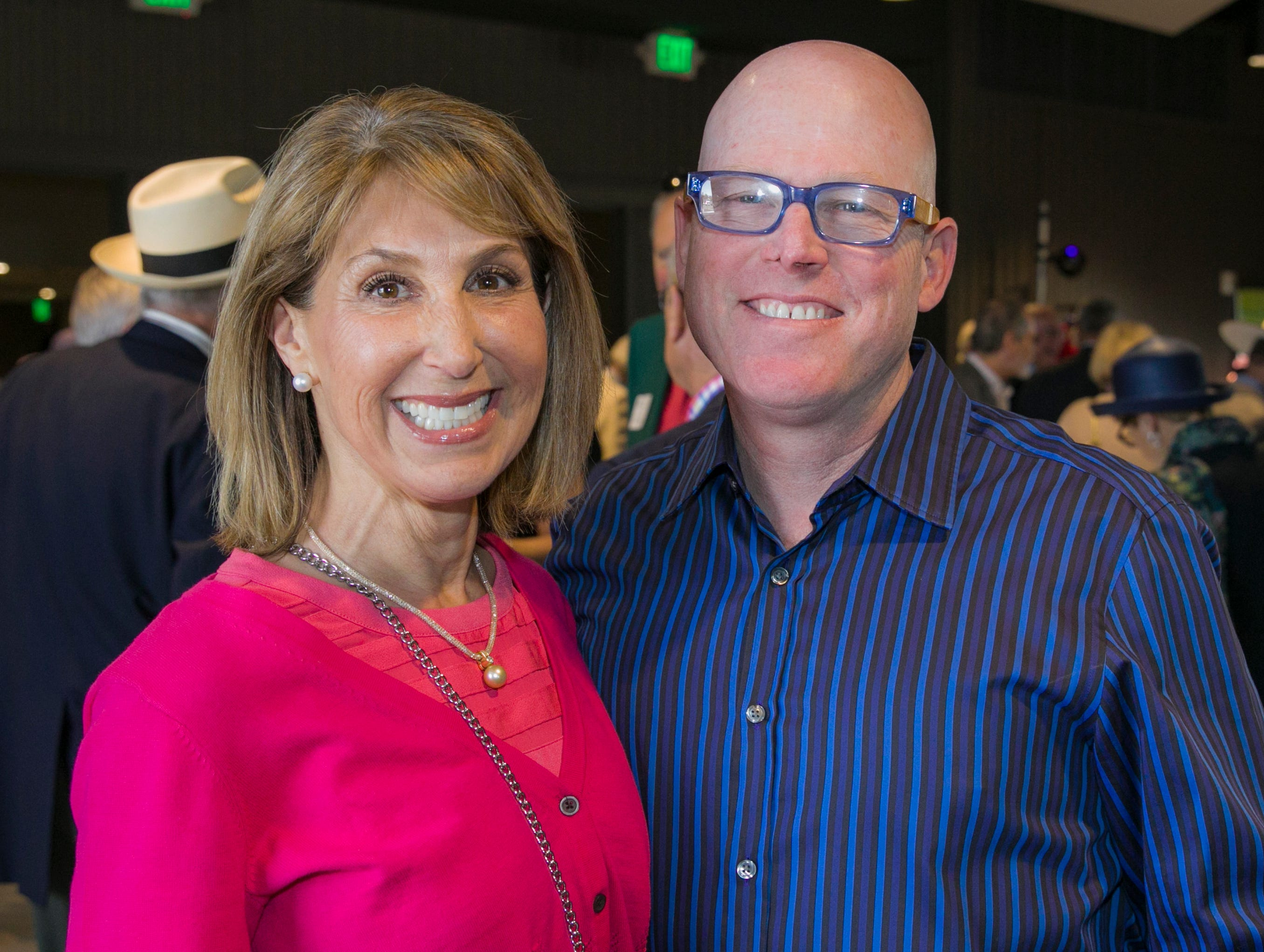 Kelli and Mario Garibotto during the Derby Day fundraiser for the Reno Chamber Orchestra at the Renaissance Reno on Saturday, May 4, 2019.