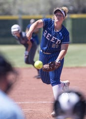 Reed's Alexandria Boyd pitches against Spanish Springs on Saturday.