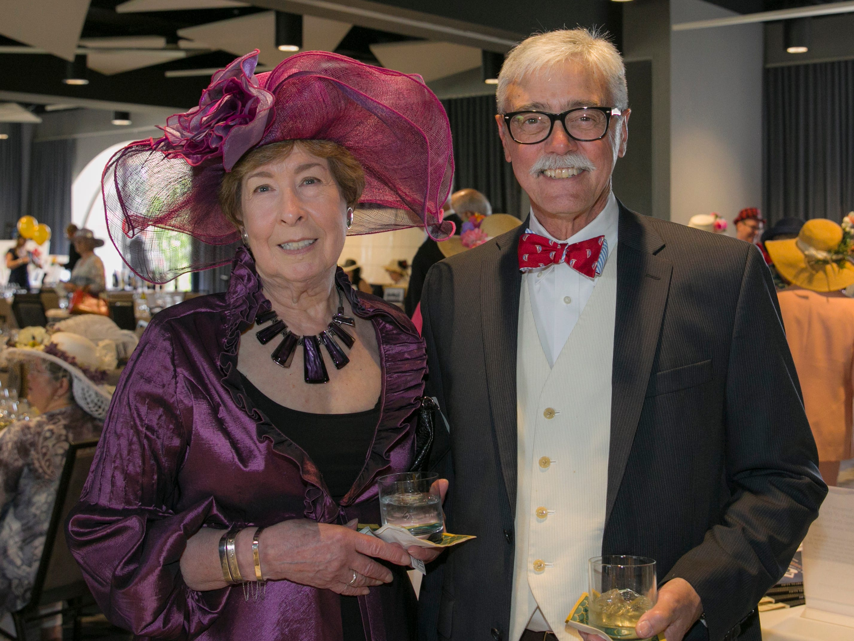 Robbi Whipp and Richard Breitling during the Derby Day fundraiser for the Reno Chamber Orchestra at the Renaissance Reno on Saturday, May 4, 2019.
