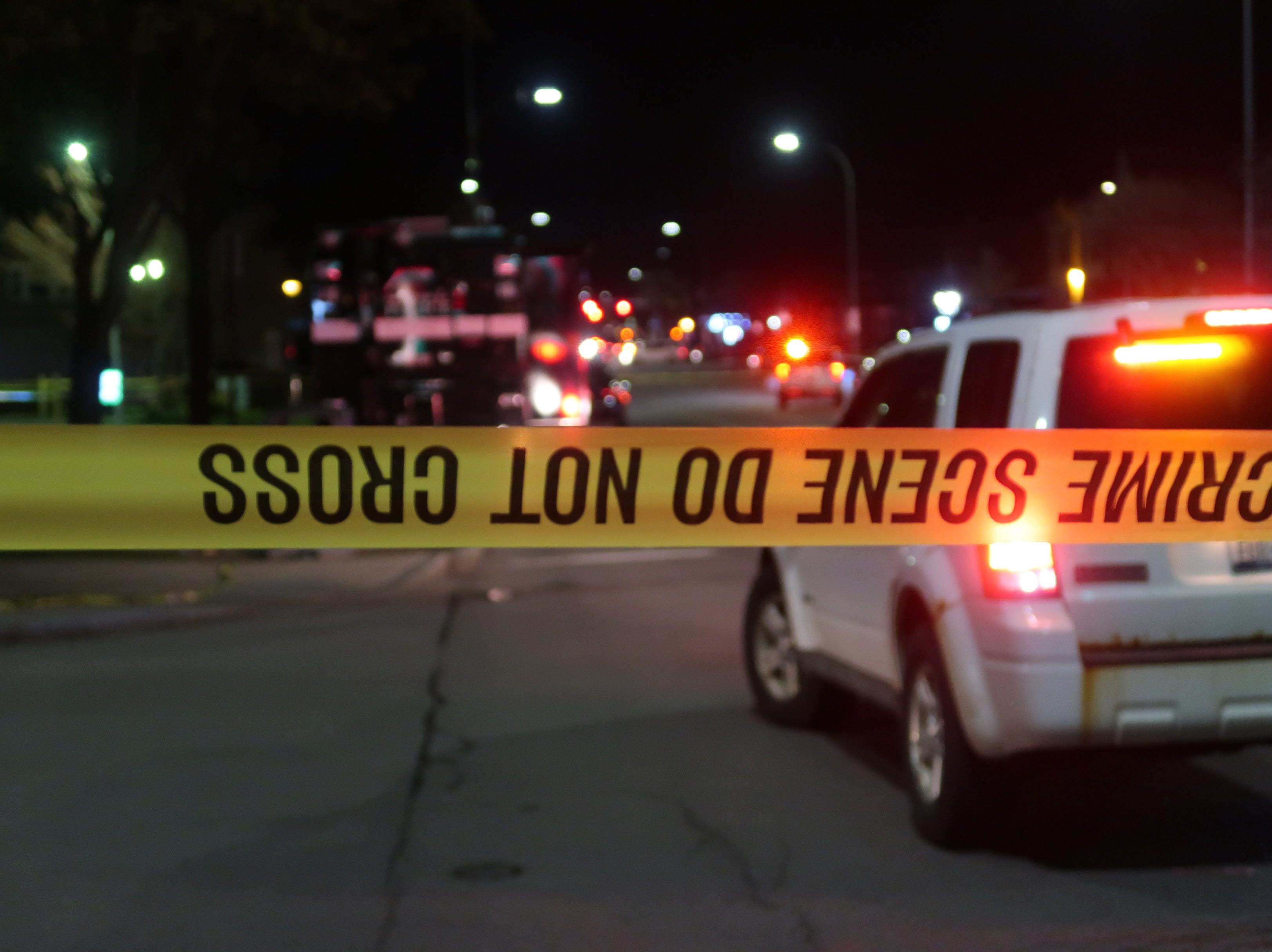 Rochester police investigate after a man was shot and killed while in a car on Magee Street in Rochester.