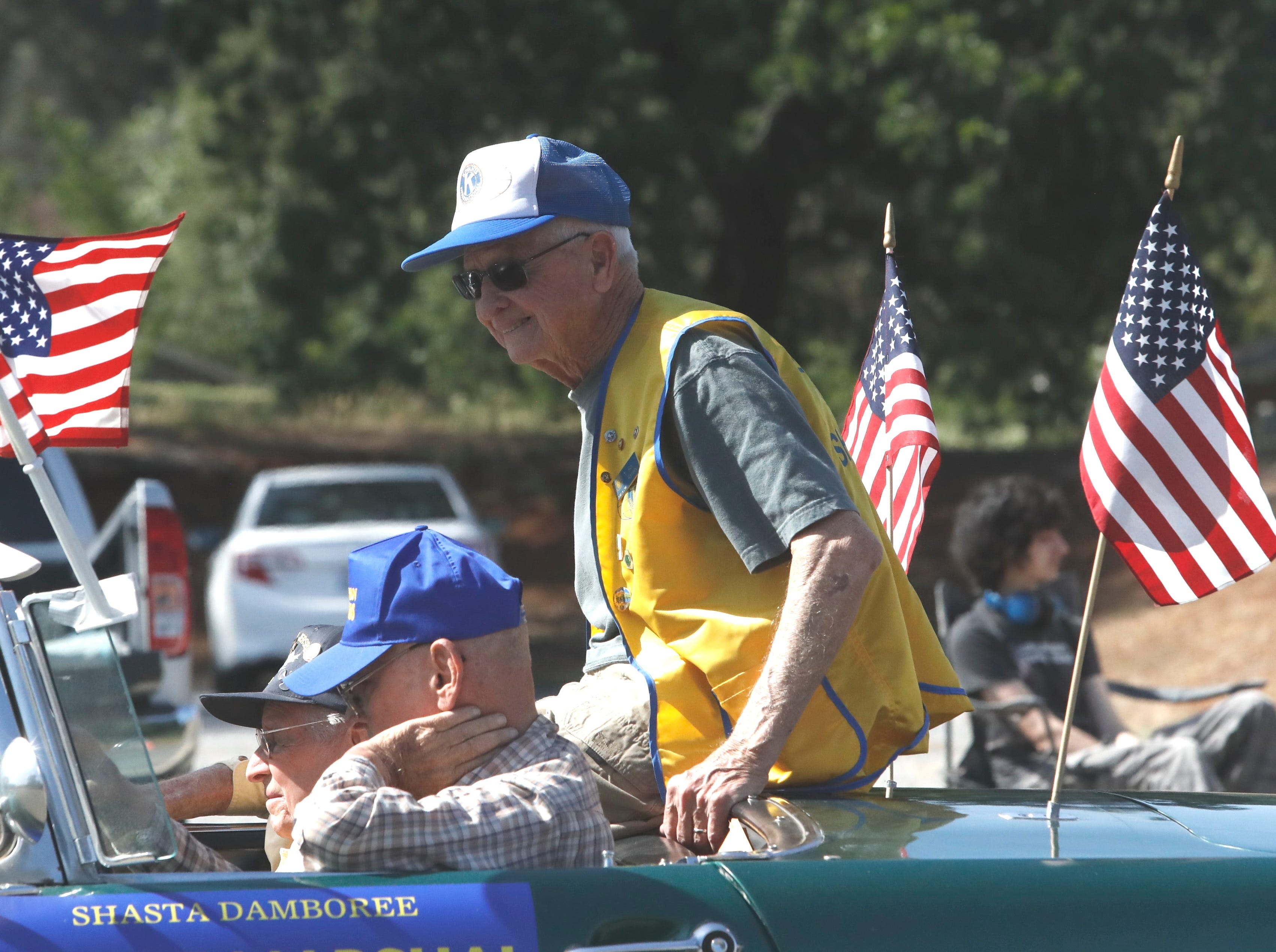 The 2019 Boomtown Festival parade along Shasta Dam Boulevard in Shasta Lake.