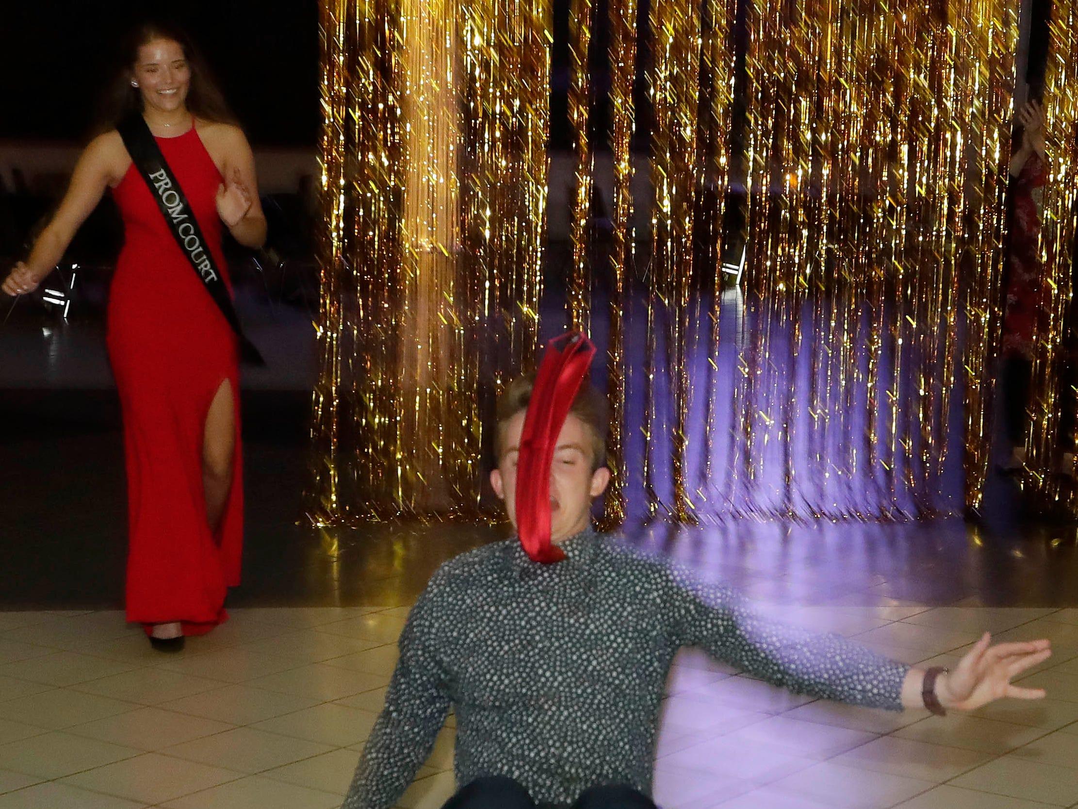 Scenes from the Sheboygan South Prom, Saturday, Mary 4, 2019, in Sheboygan, Wis.
