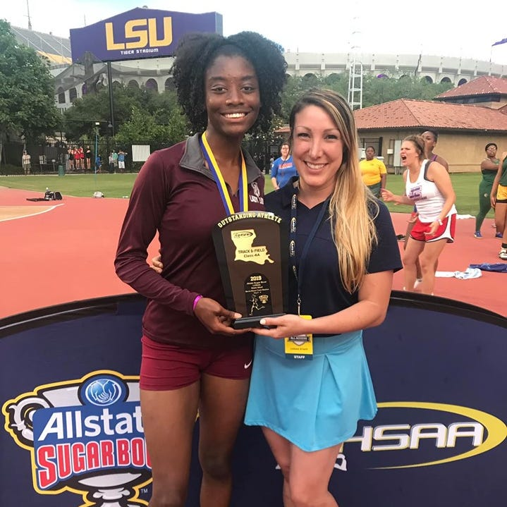BTW girls edged by Karr for state track championship